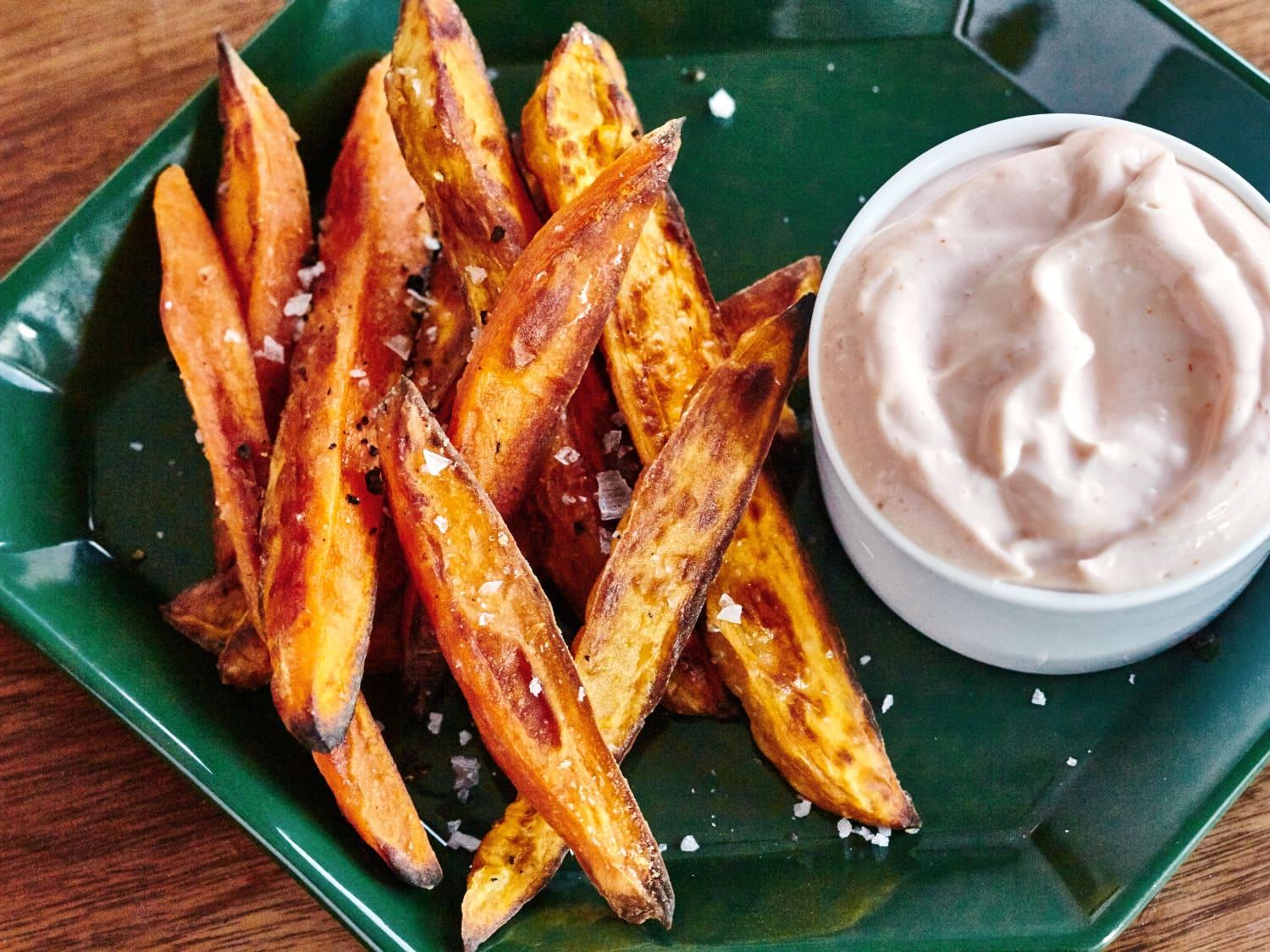 How To Make Crispy Baked Sweet Potato Fries Kitchn