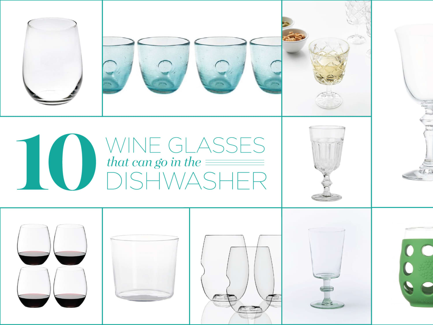 10 Wine Glasses That Can Go In The Dishwasher Kitchn