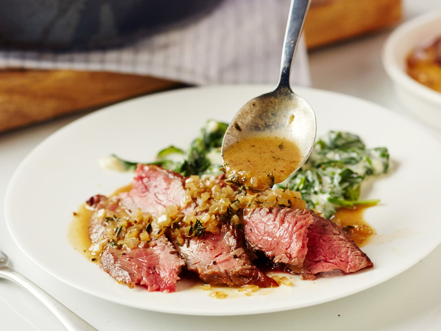 How To Make A Pan Sauce From Steak Drippings Kitchn,Color Combination For Green And Blue