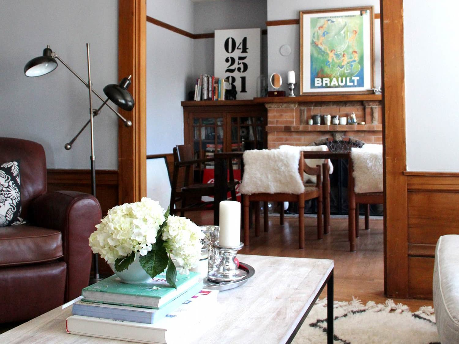 Drop That Paintbrush 12 Wonderful Uses Of Wood Trim Apartment Therapy