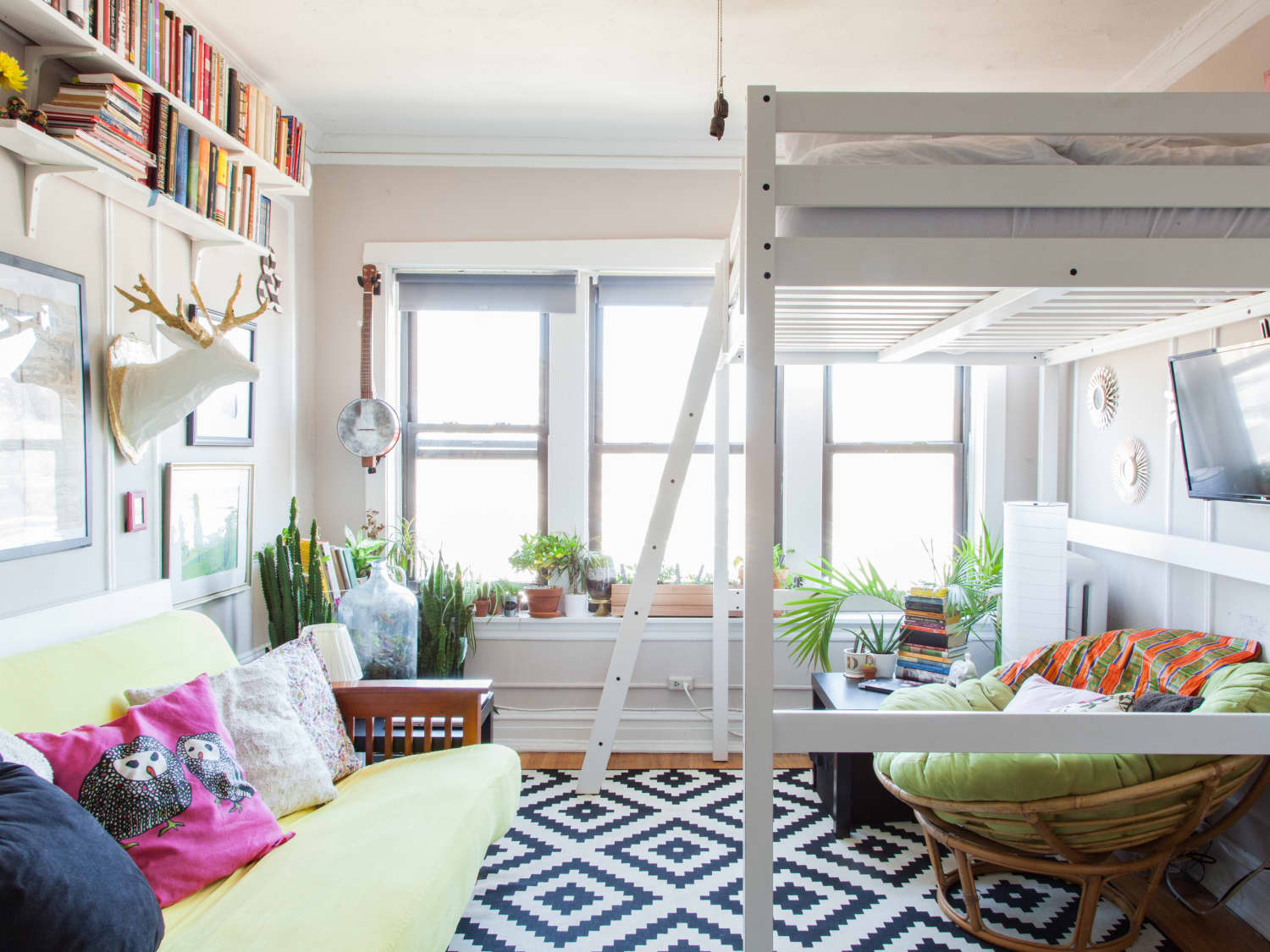 Picture of: Loft Bed Dos Don T For Adults Apartment Therapy