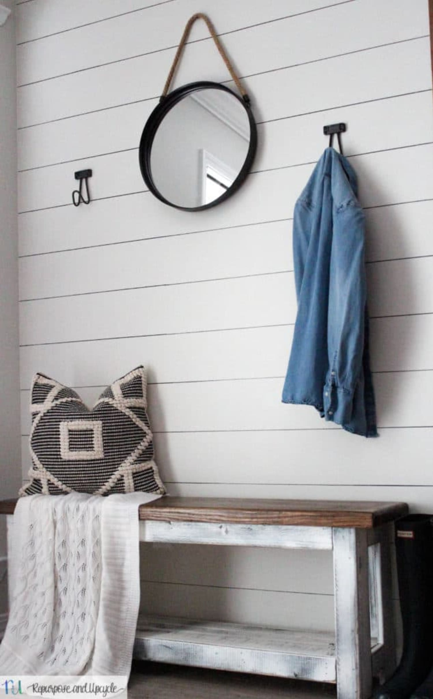 The Secret to Easy Faux Shiplap (Plus 3 Other Paint-Only Projects)