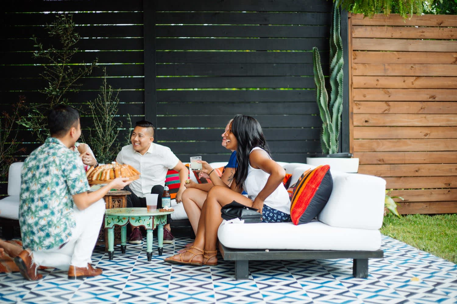 How to Create an Outdoor Space that's Basically a Second Living Room, According to 4 Design Experts