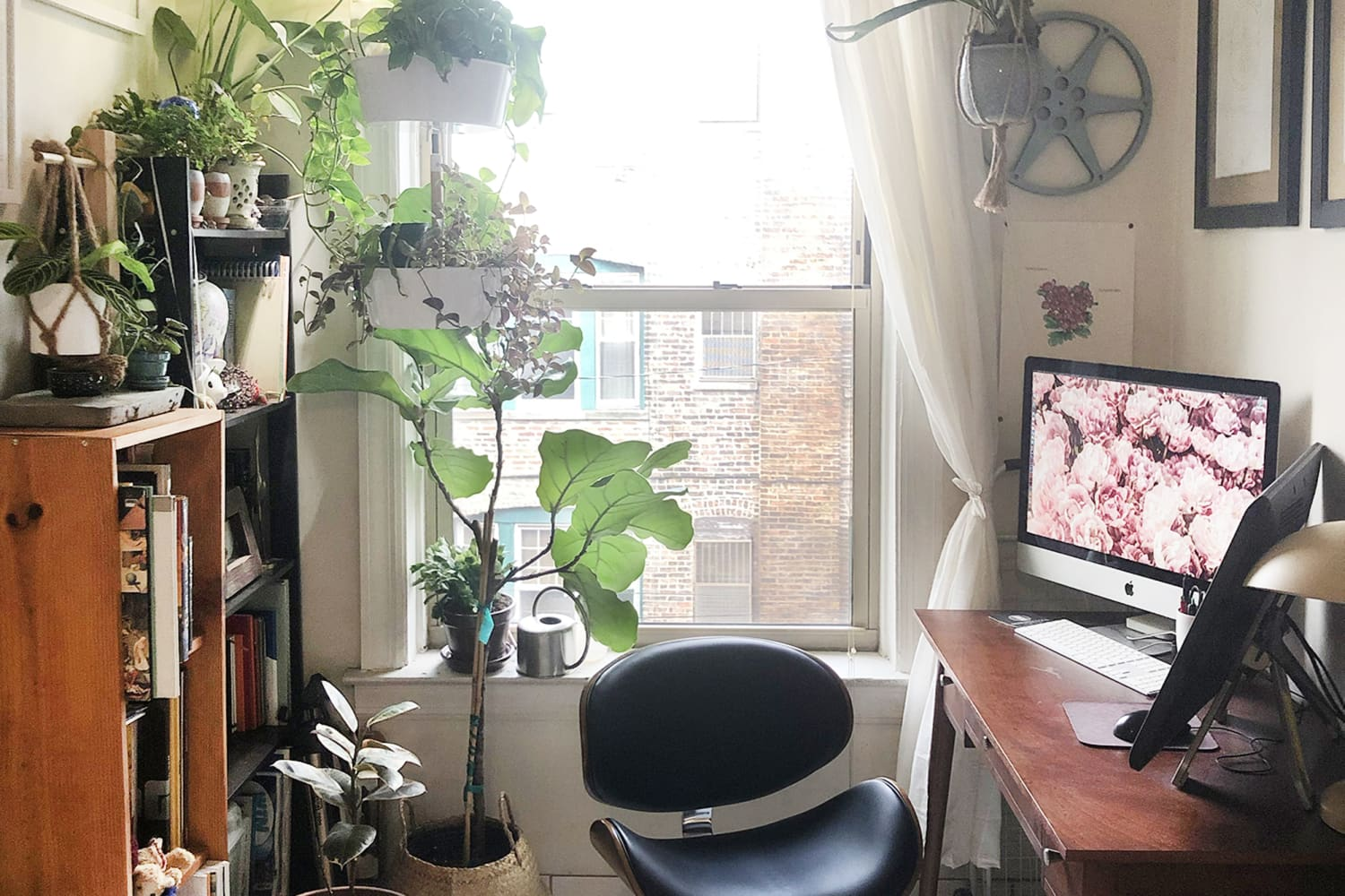 Elbow Grease Made This Small 400-Square-Foot Studio Extremely Livable
