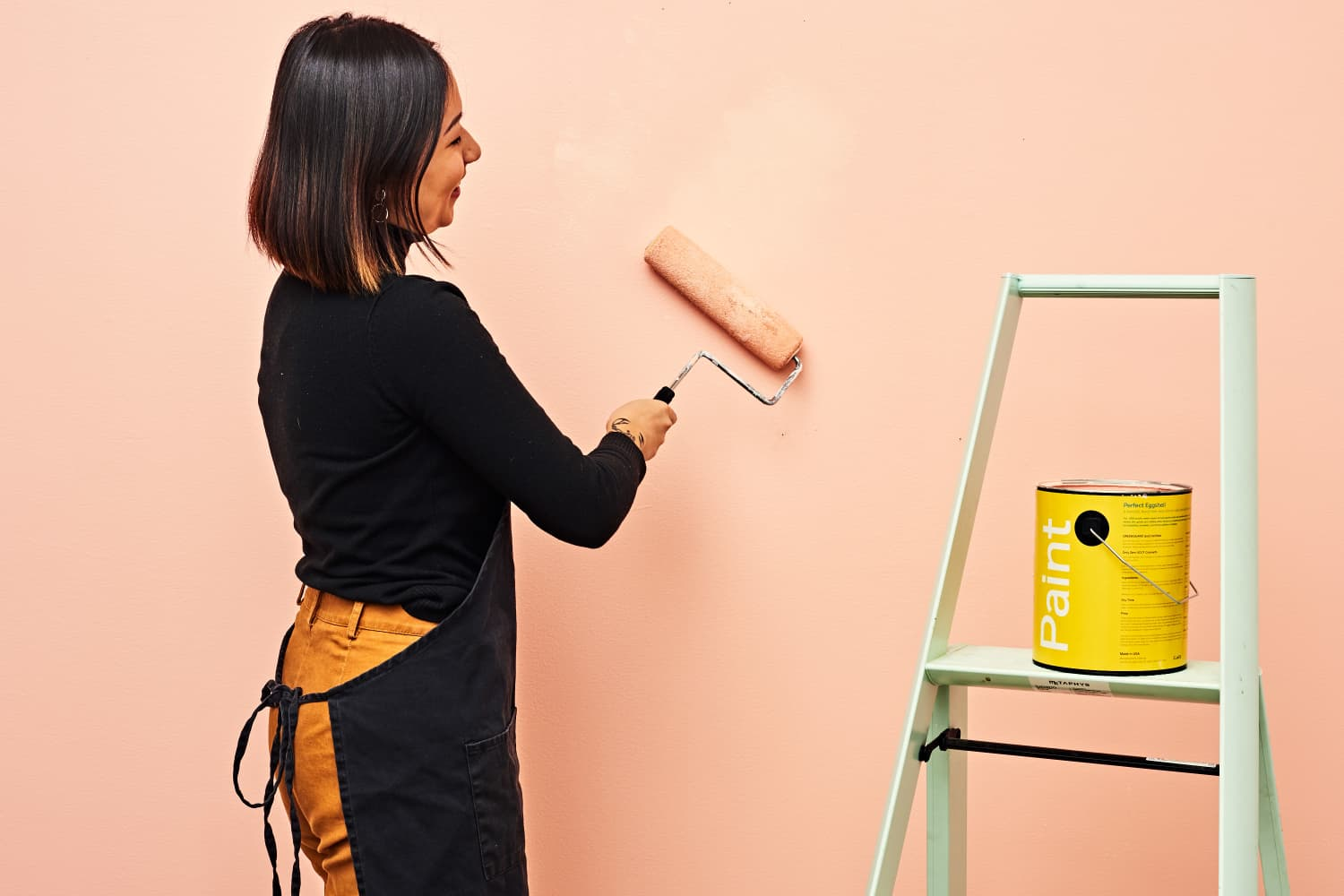 These Brilliant Paint Roller Hacks Will Save You Time, Money, and Mess