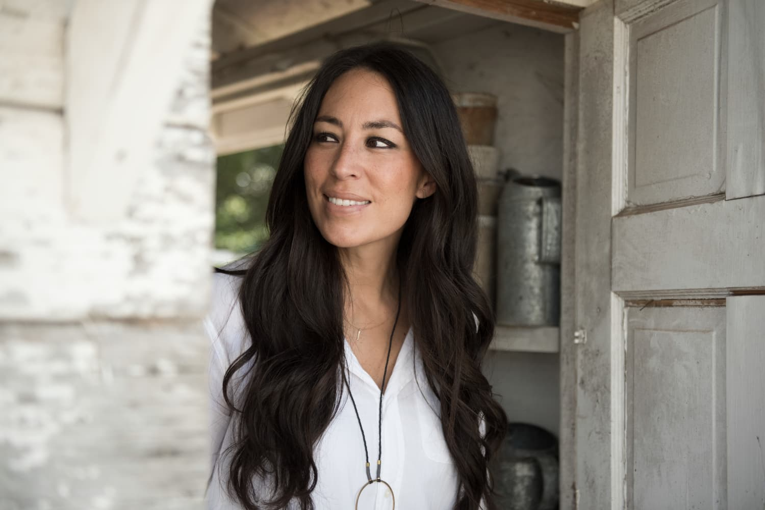 How Joanna Gaines Uses a Color or Pattern to Fix an Open-Concept Kitchen