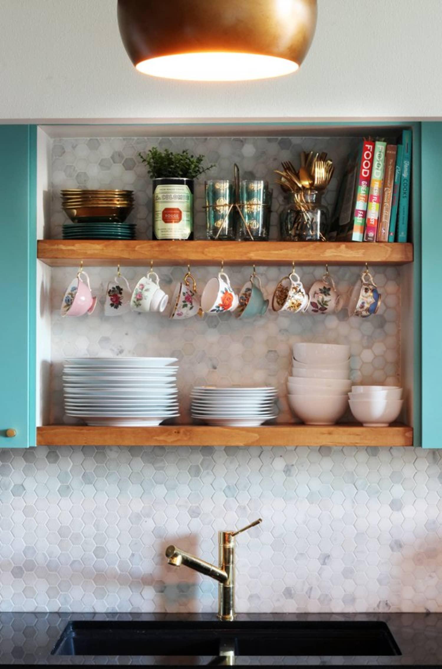 The Best Kitchen Shelf Ideas - Open Kitchen Shelving Ideas