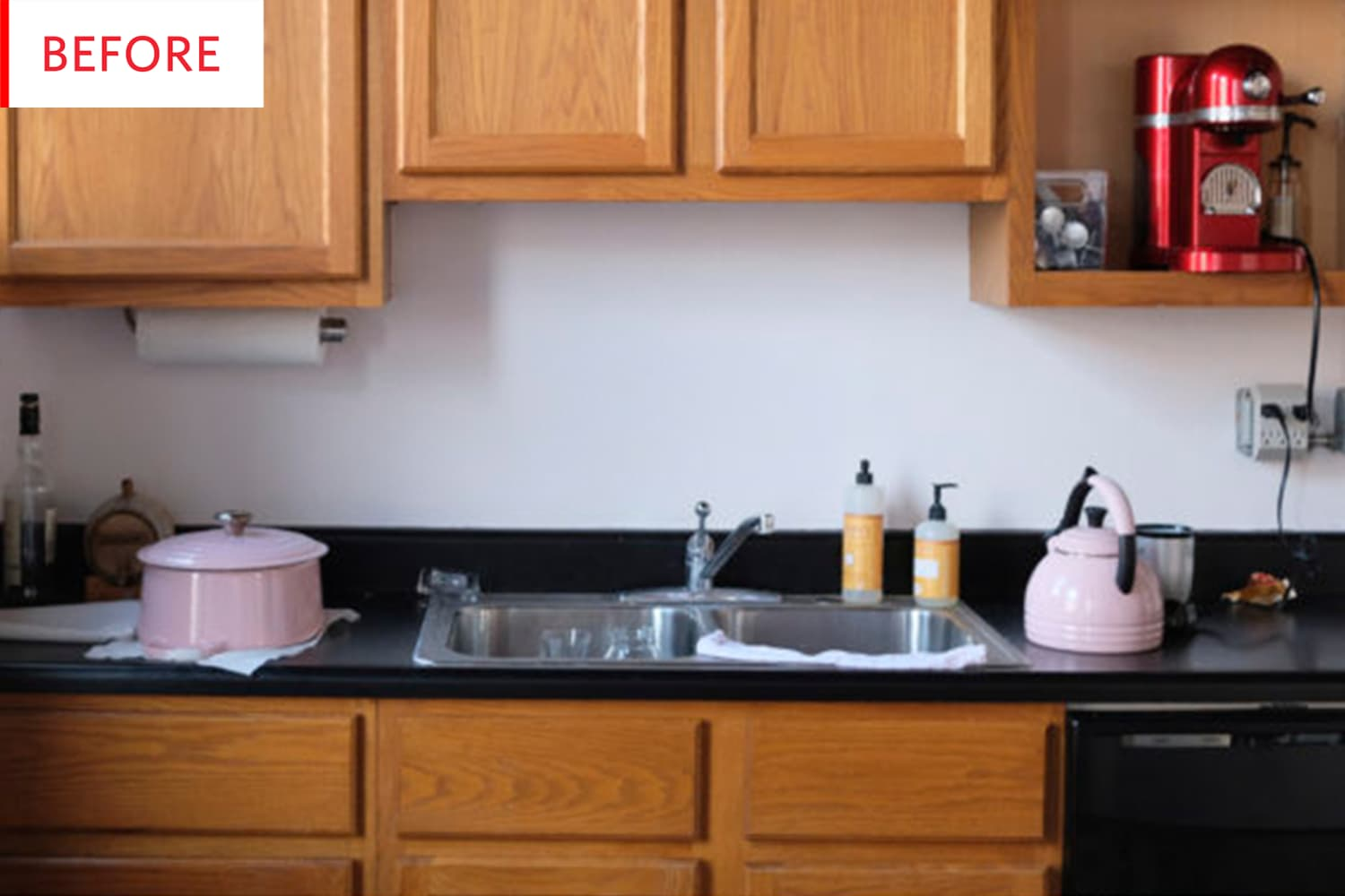 Before & After: This Mind-Blowing Kitchen Renovation Cost Just $200