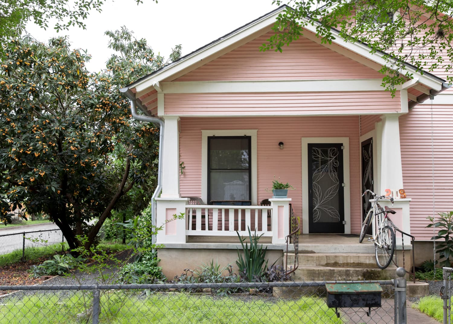 See Inside This Pretty Pink Austin Bungalow That Was DIY Renovated