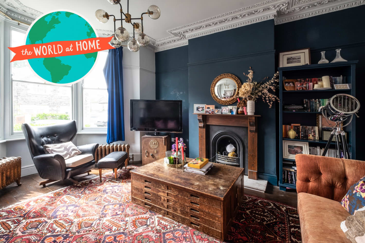 This Eclectic UK Home Features Some Seriously Enviable Secondhand Scores