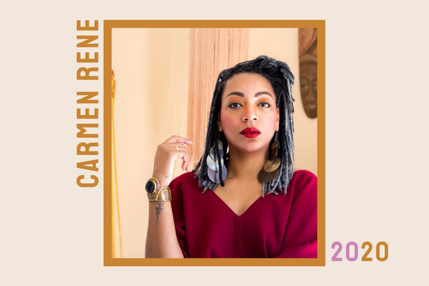 """Class of 2020: How Interior Designer Carmen René Smith is Creating """"Willy Wonka"""" Moments, One Quirky Coffee Table at a Time"""