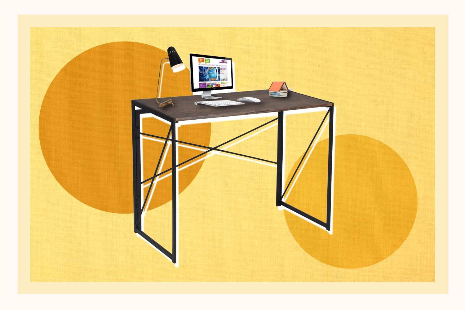 This $65 Foldable Desk Needs No Assembly—And It Has Over 2,000 5-Star Reviews on Amazon