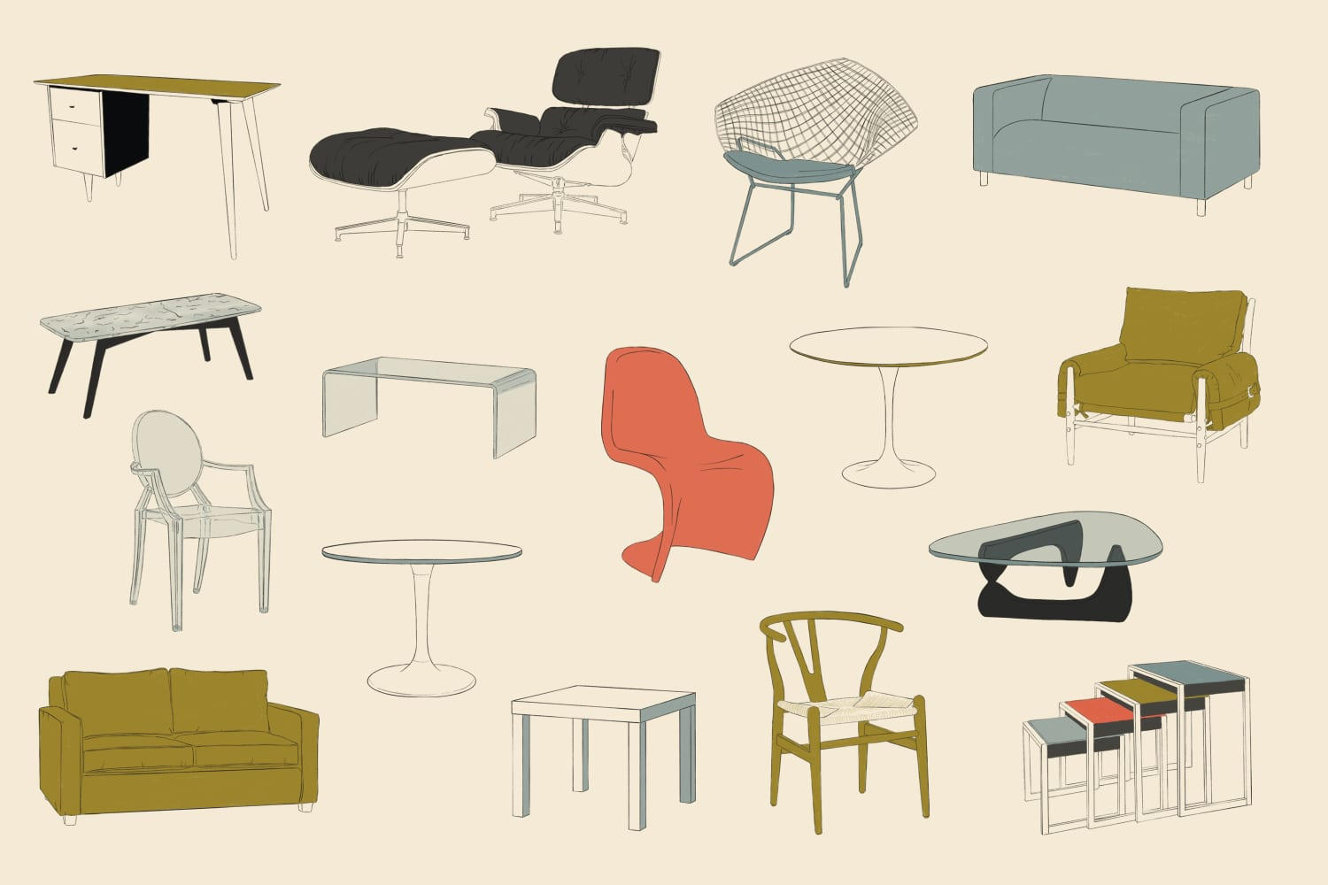 What's the Most Iconic Piece of Furniture? We Made a Bracket to Decide