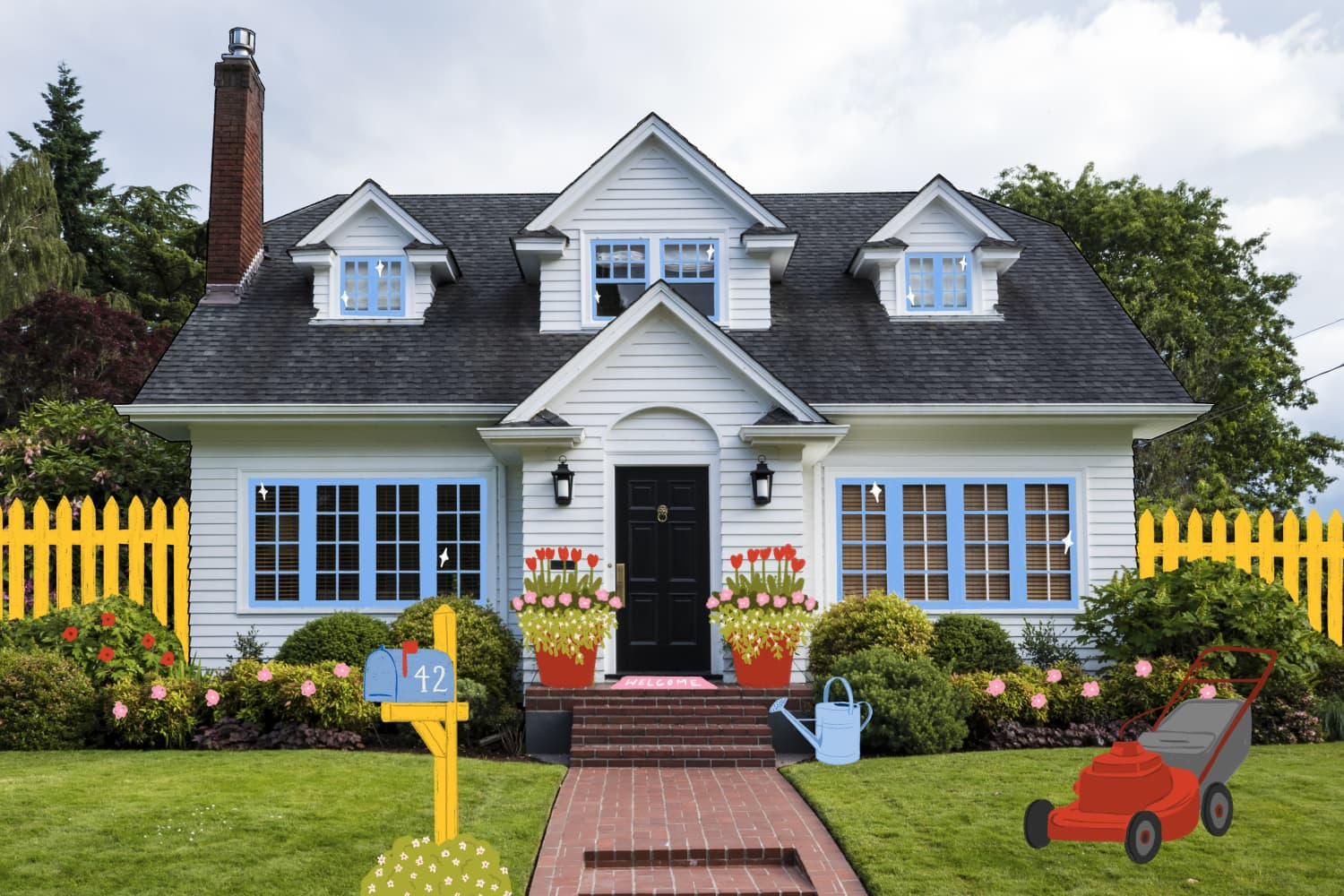 22 Projects to Up Your Curb Appeal While You're Stuck at Home This Spring