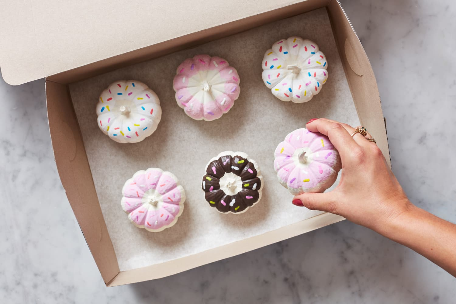 These Doughnut Pumpkins Are So Cute You'll Want to Eat Them Up