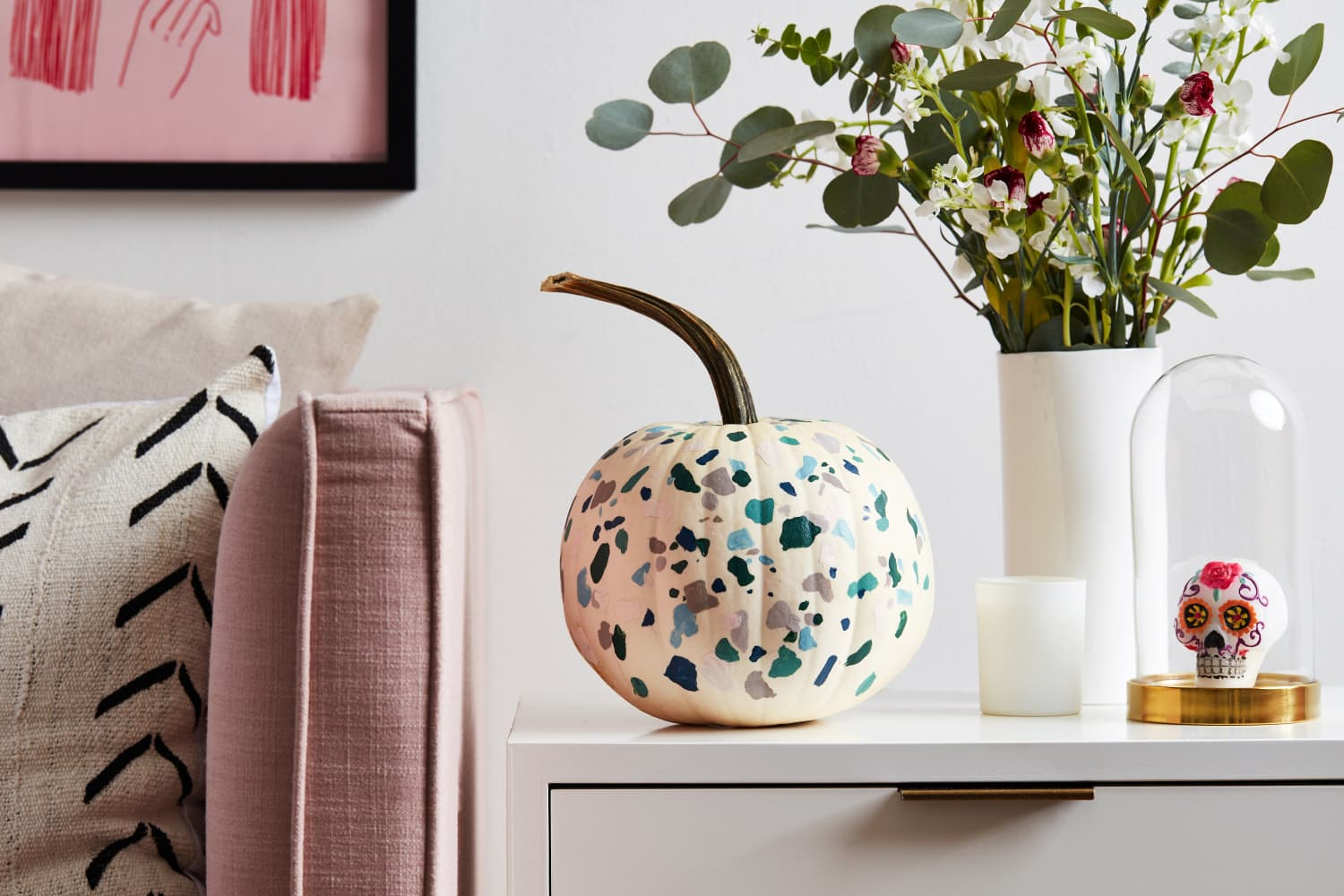 How to Create This Year's Trendiest Pumpkin (No Knife Required)