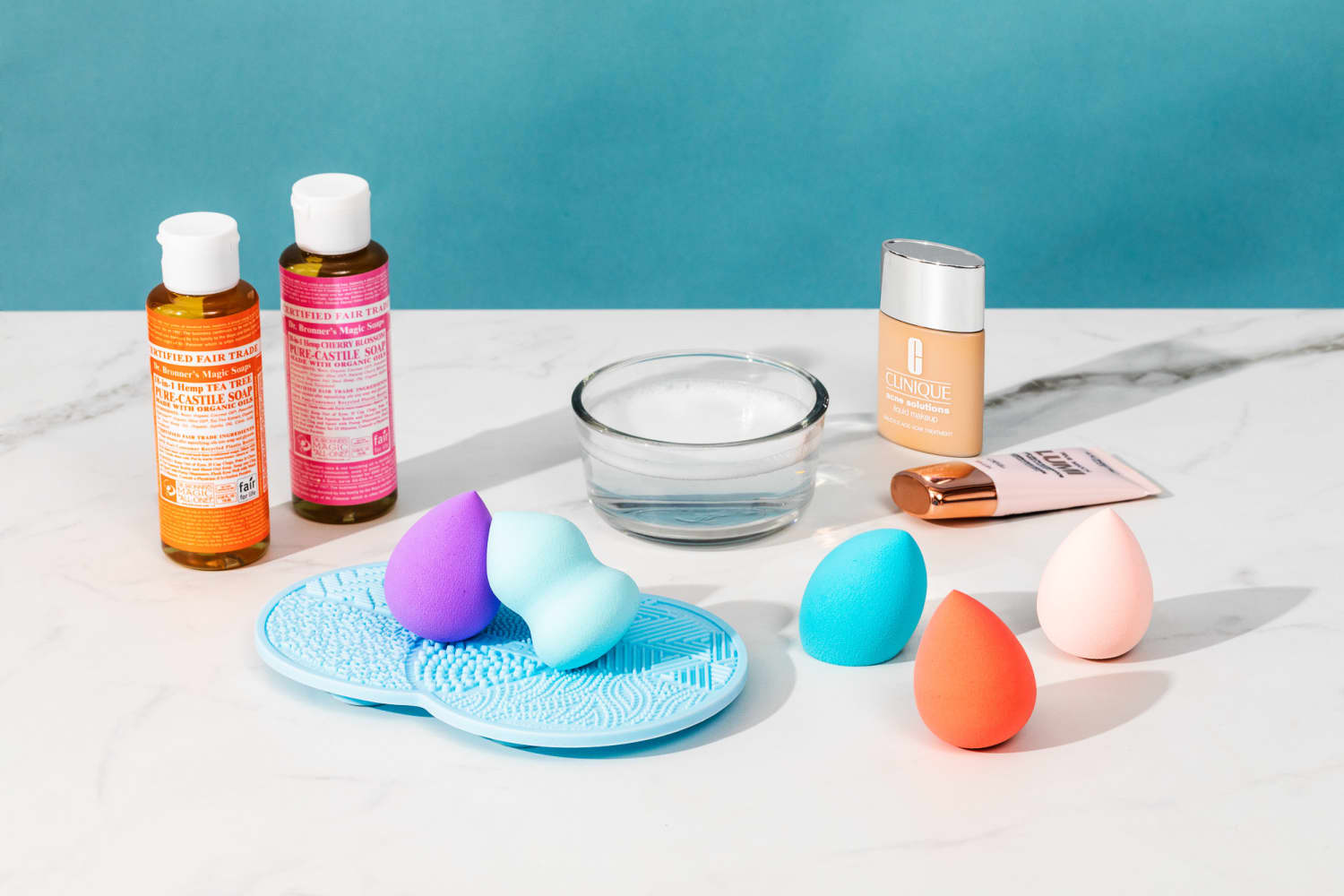 You're Probably Not Washing Your Beauty Blender Enough—Here's How the Experts Say to Do It