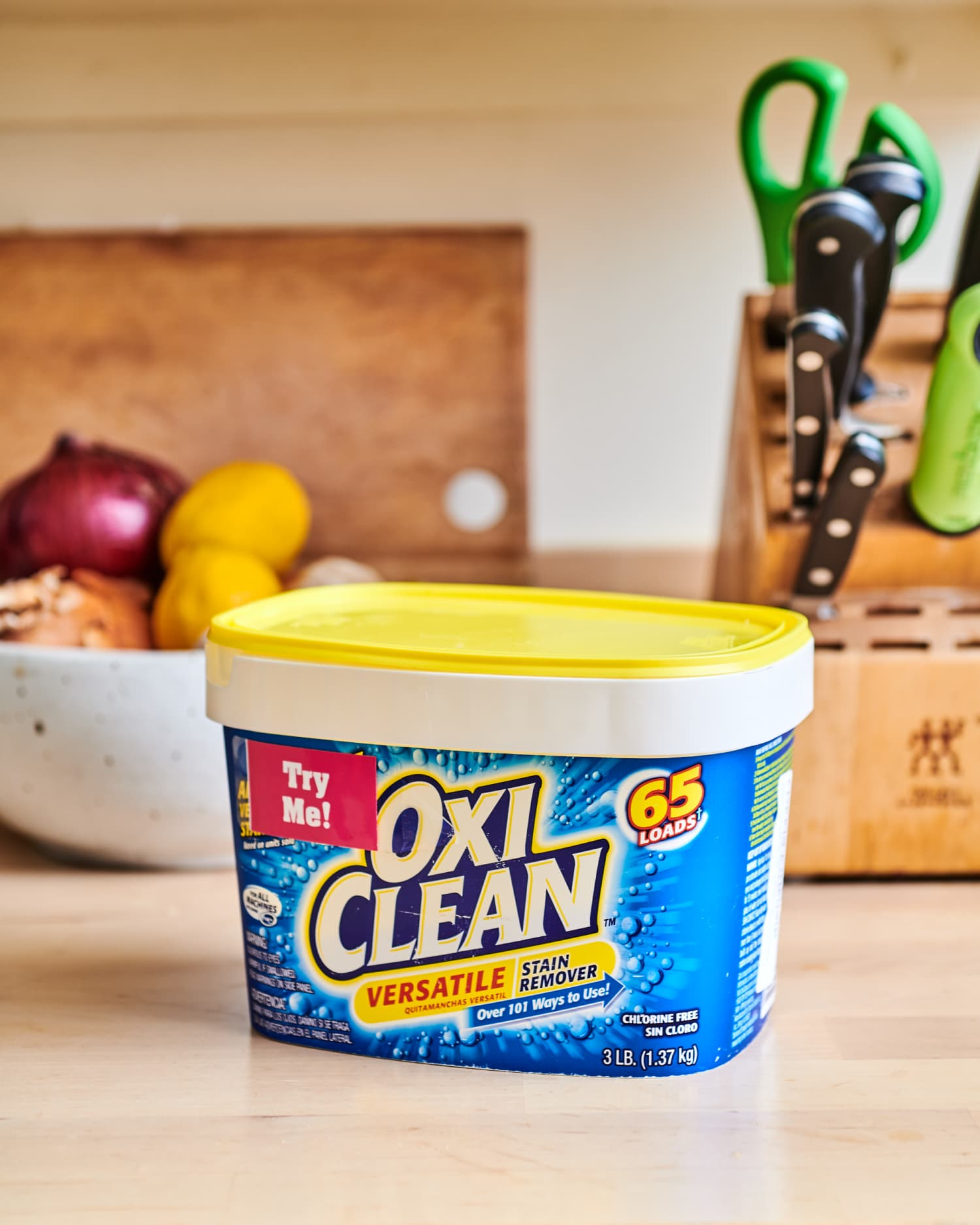One Very Good Reason to Keep OxiClean in the Kitchen