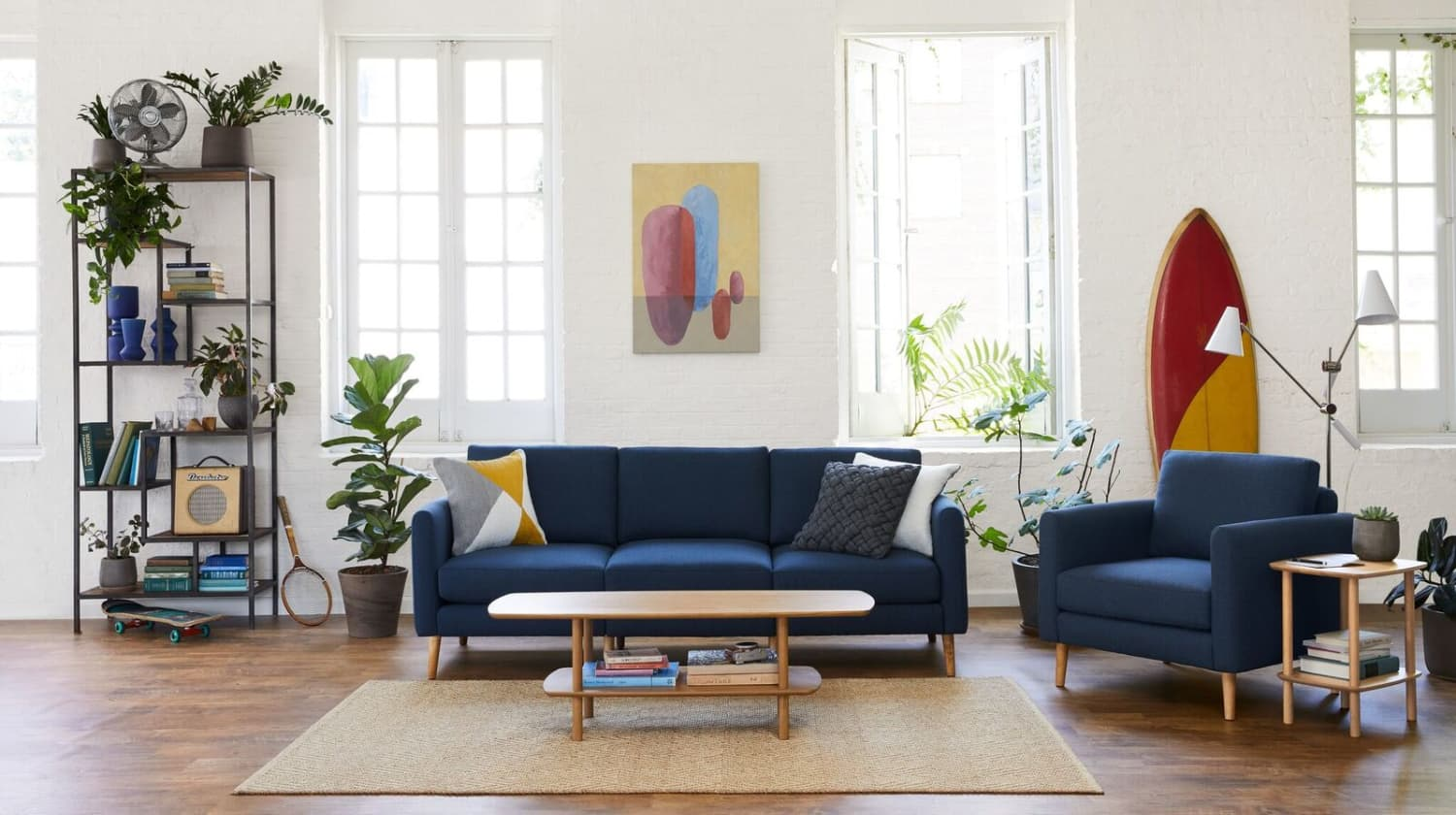 I Can't Stop Talking About My Burrow Sofa—And It's On Sale Right Now