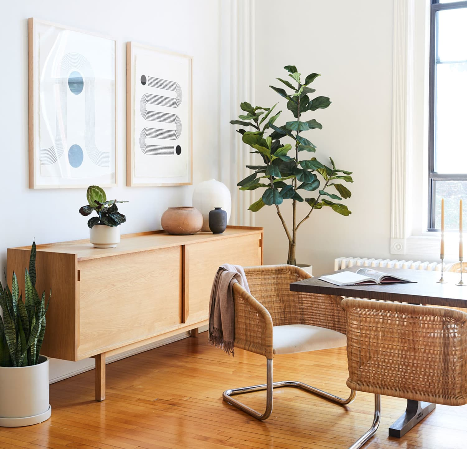 The Secret to Convincing Fake Plants Is Also Having Real Ones—Here's How to Make It Work