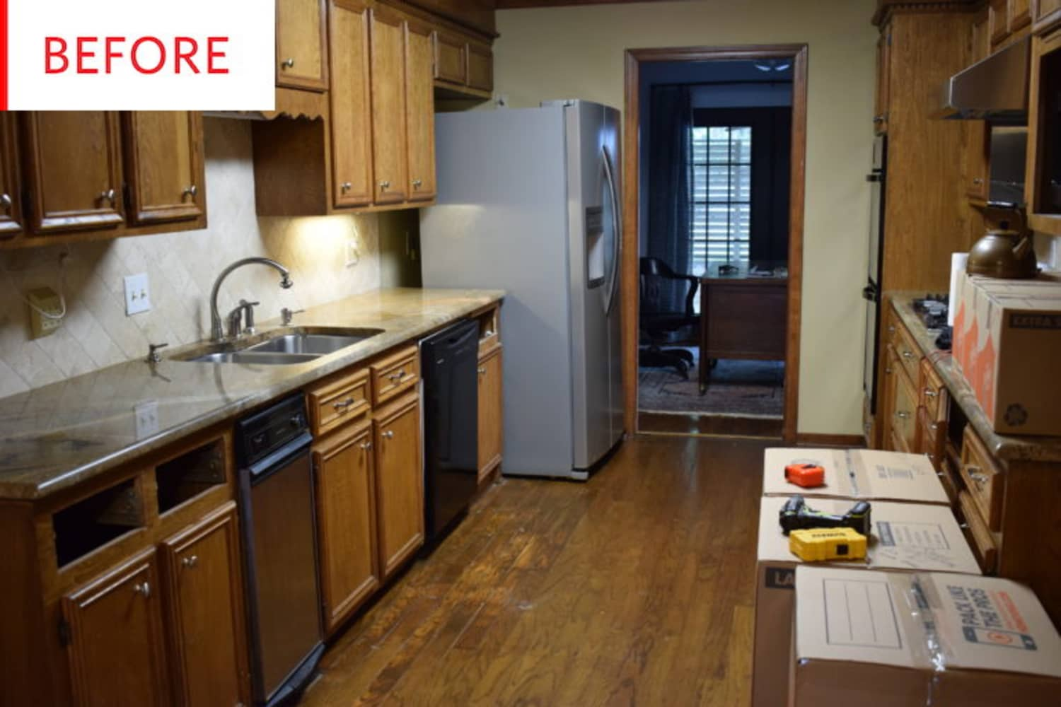 Before and After: You Won't Recognize This Kitchen After Its Completely DIY Upgrade