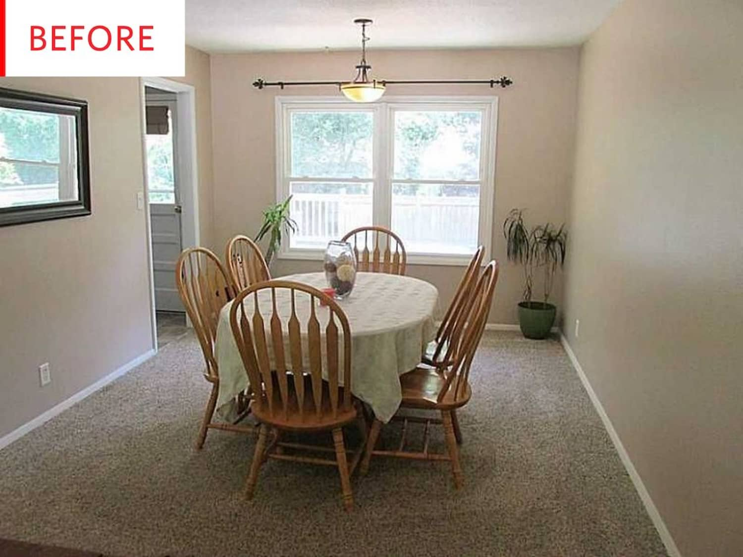 Before & After: You Won't Believe How Wonderfully This Inexpensive Dining Room Refresh Came Together