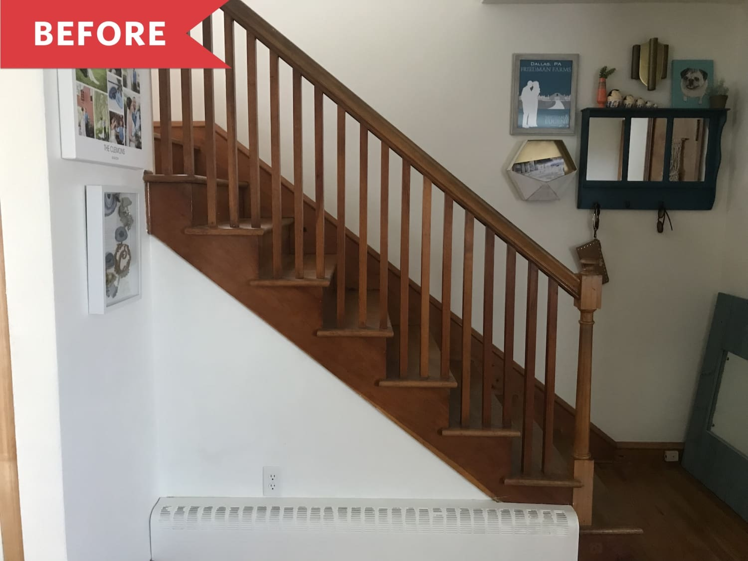 Before and After: This Stair Paint Job Will Make You Never Want to Climb a Plain Staircase Again