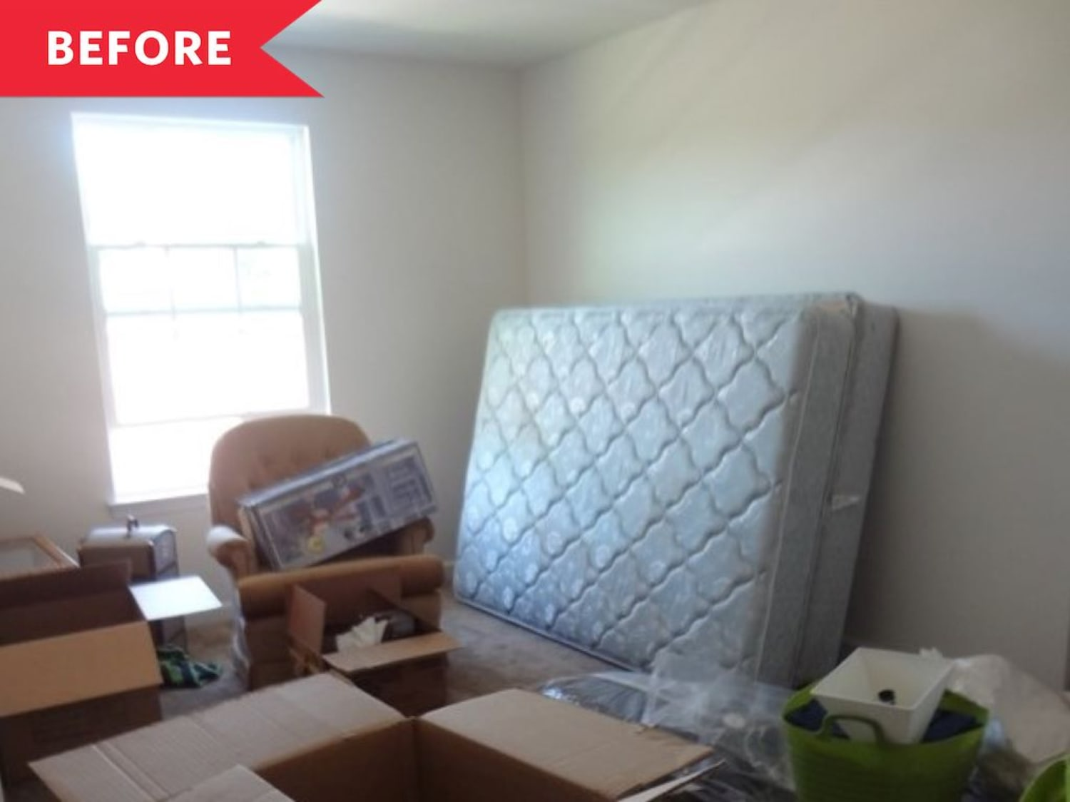 Before and After: A Guest Bedroom Filled with DIYs and One Fab IKEA Hack