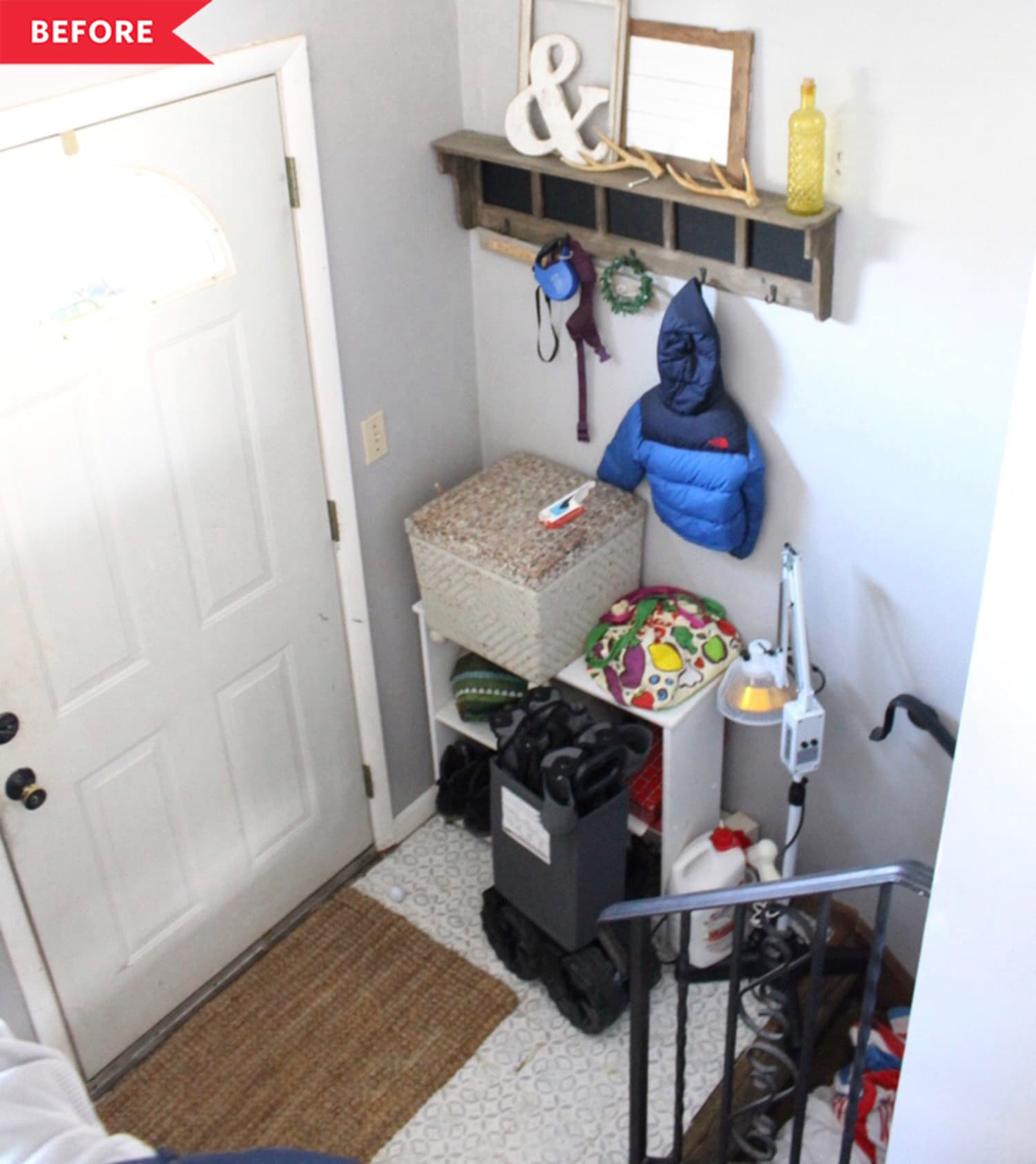 Before and After: A Mini $30 Entry Makeover with Big Results