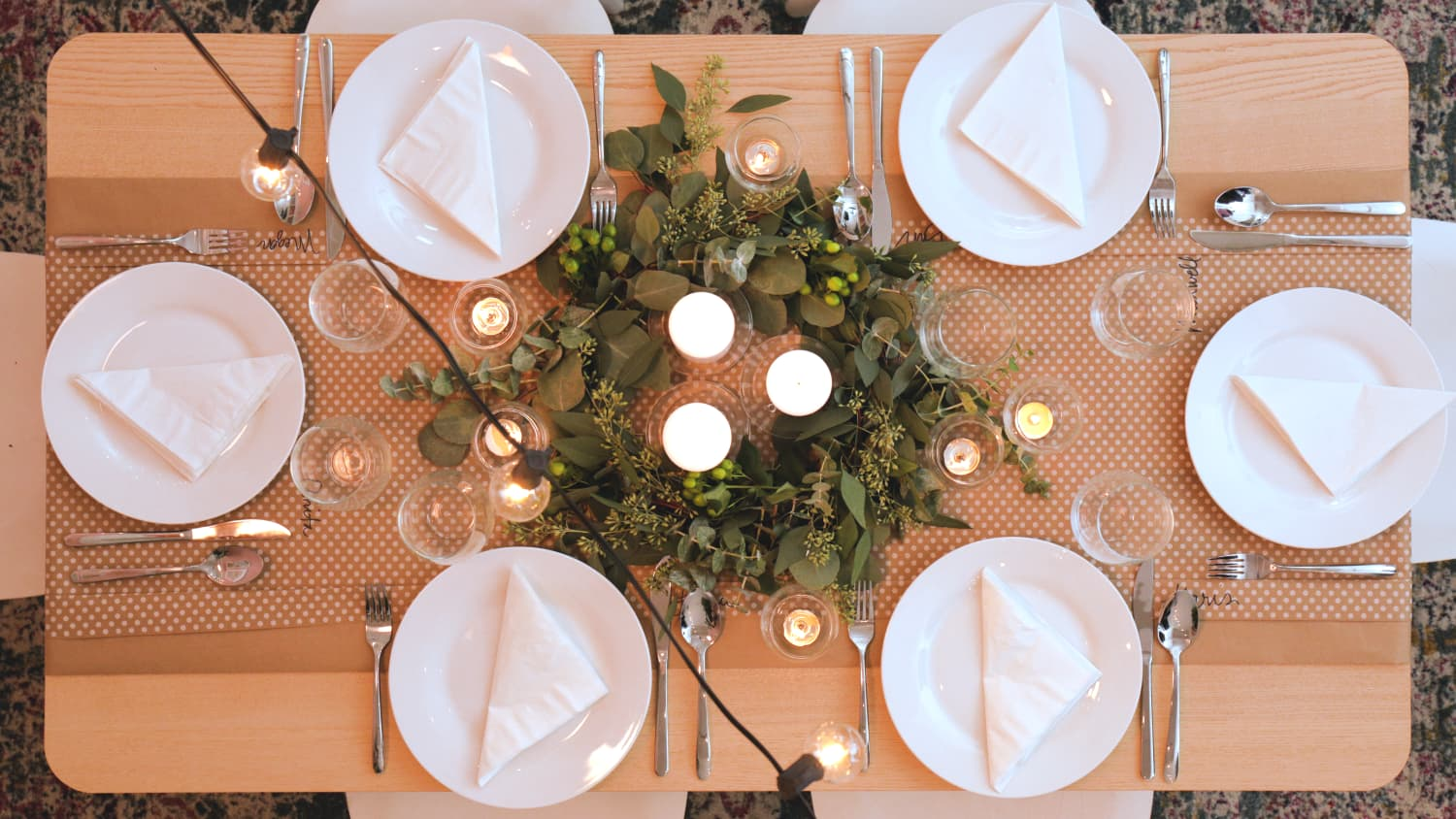 I Raided the Dollar Section to Fake This Fancy-Looking Dinner Party