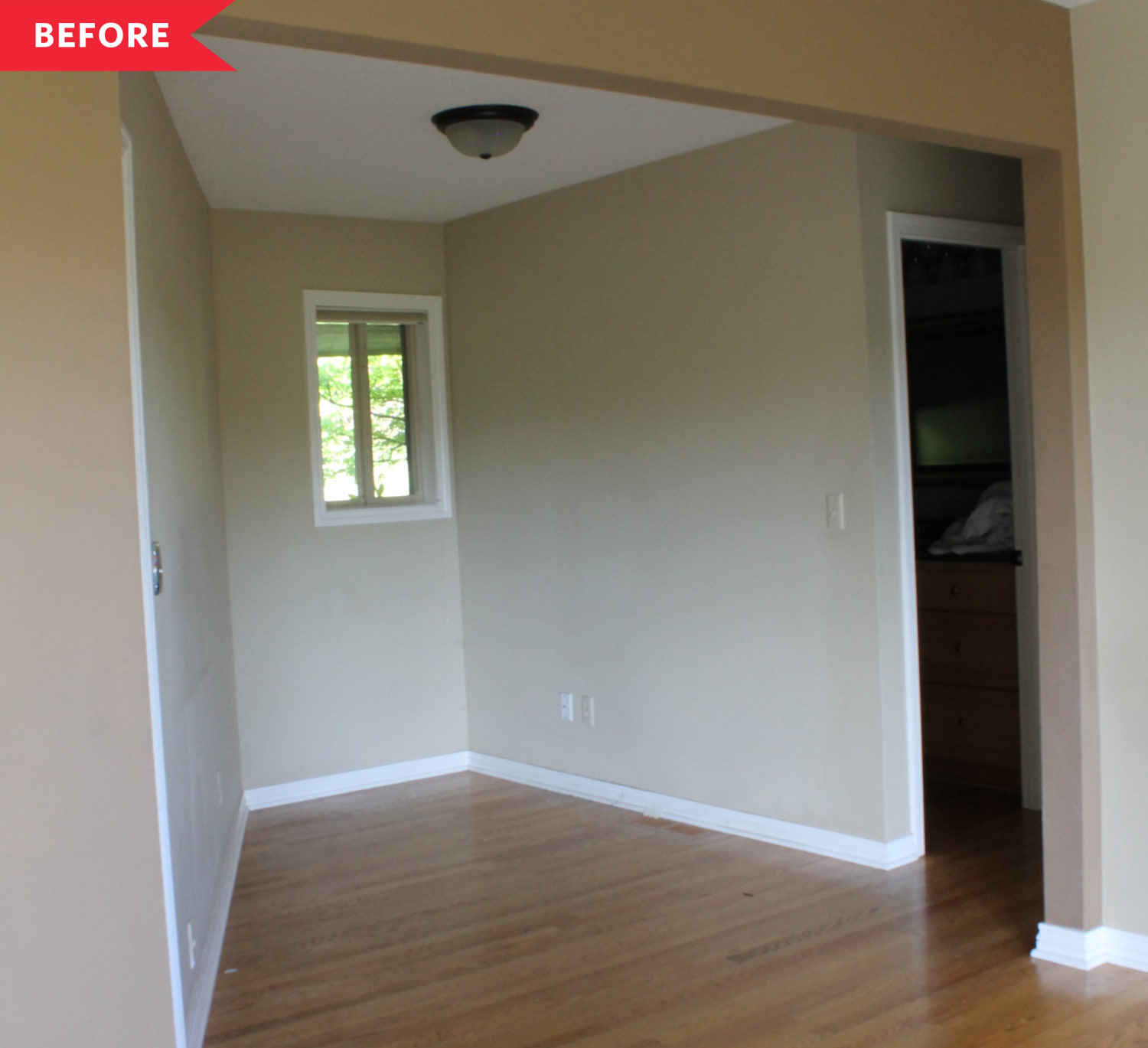 Before and After: This Awkward Space Gets the Office Glow-Up It Deserves