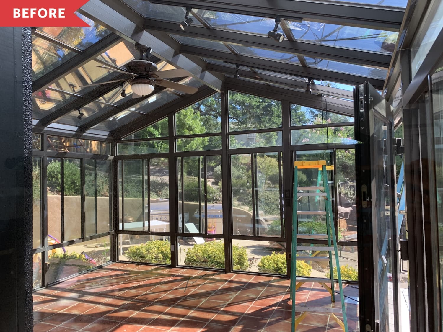 Before and After: This Sunroom's Before is Good, But Its After is a Stunner