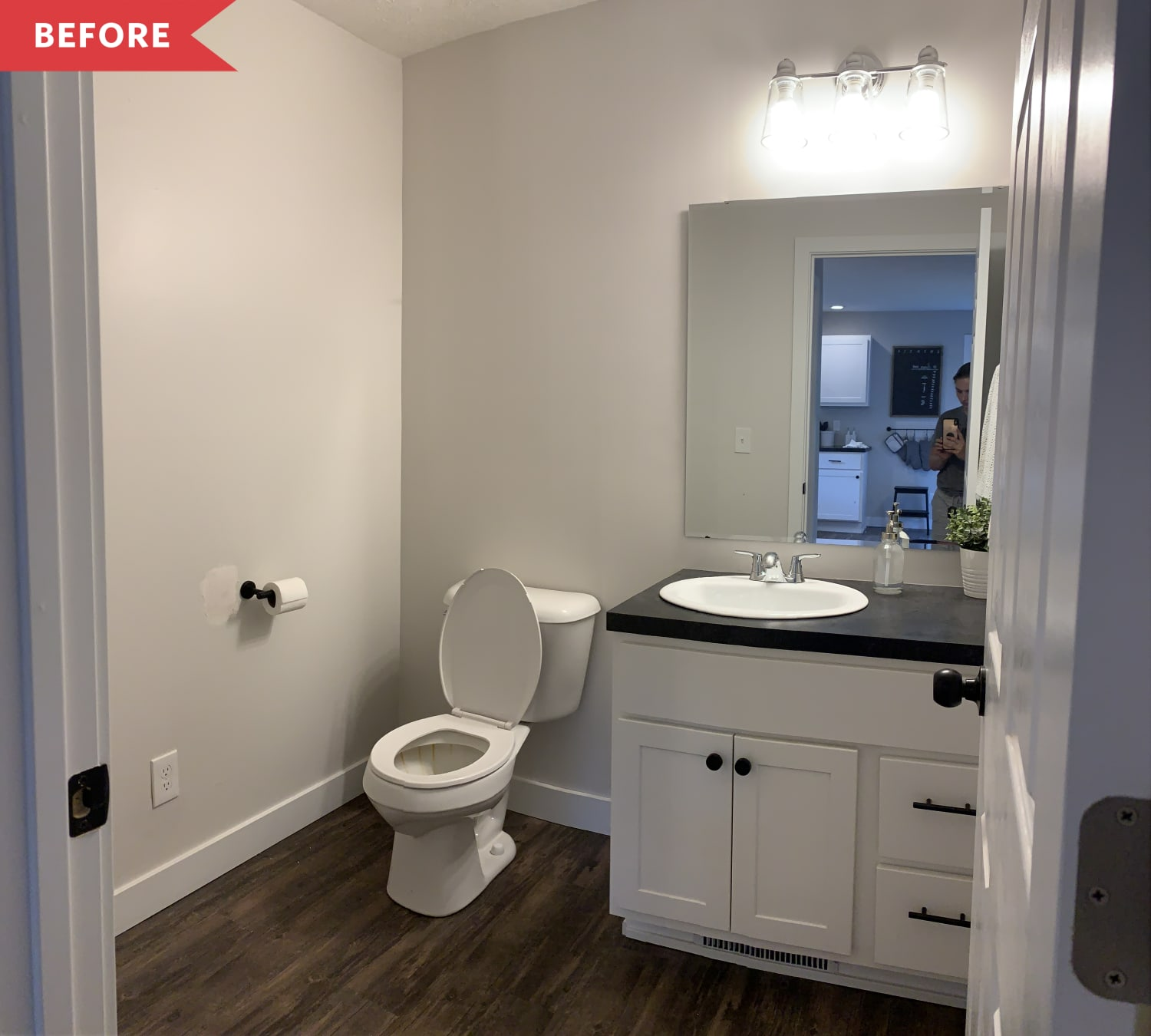 Before and After: A $200 Bathroom Transformation Done in a Weekend