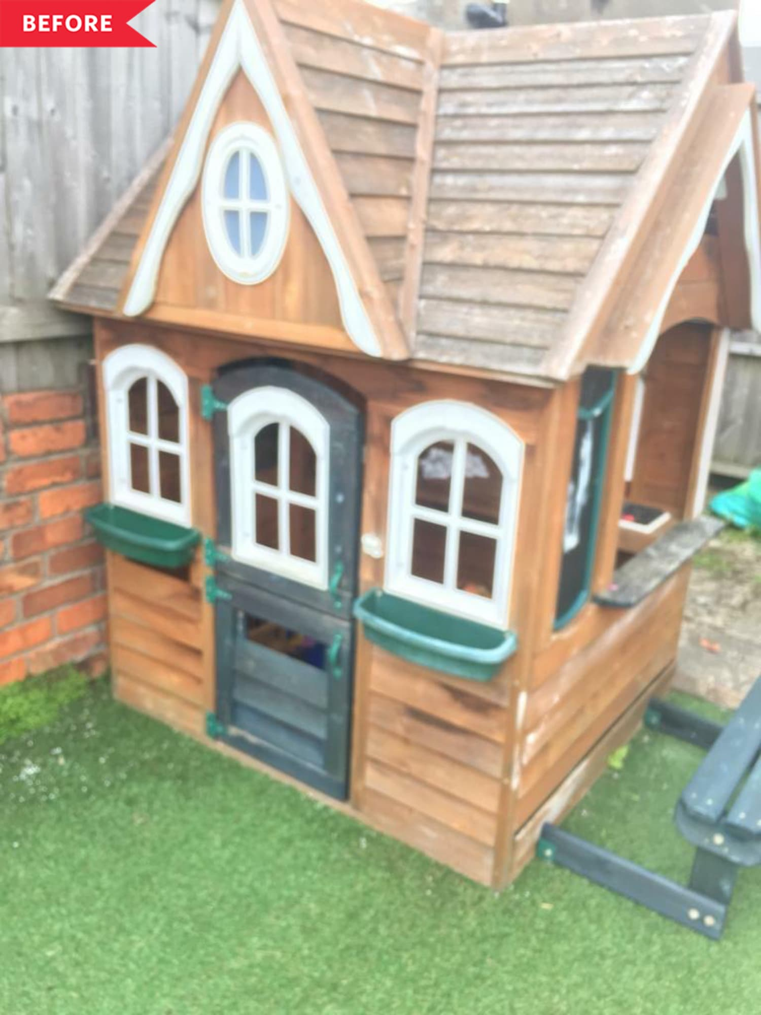 Before and After: The Most Magical Little Playhouse You've Ever Seen