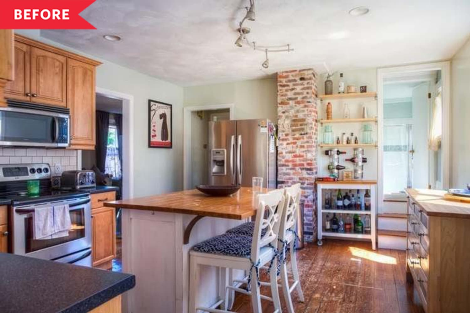 Before and After: After Recovering from a Sewage Leak, This Kitchen's Better Than Ever