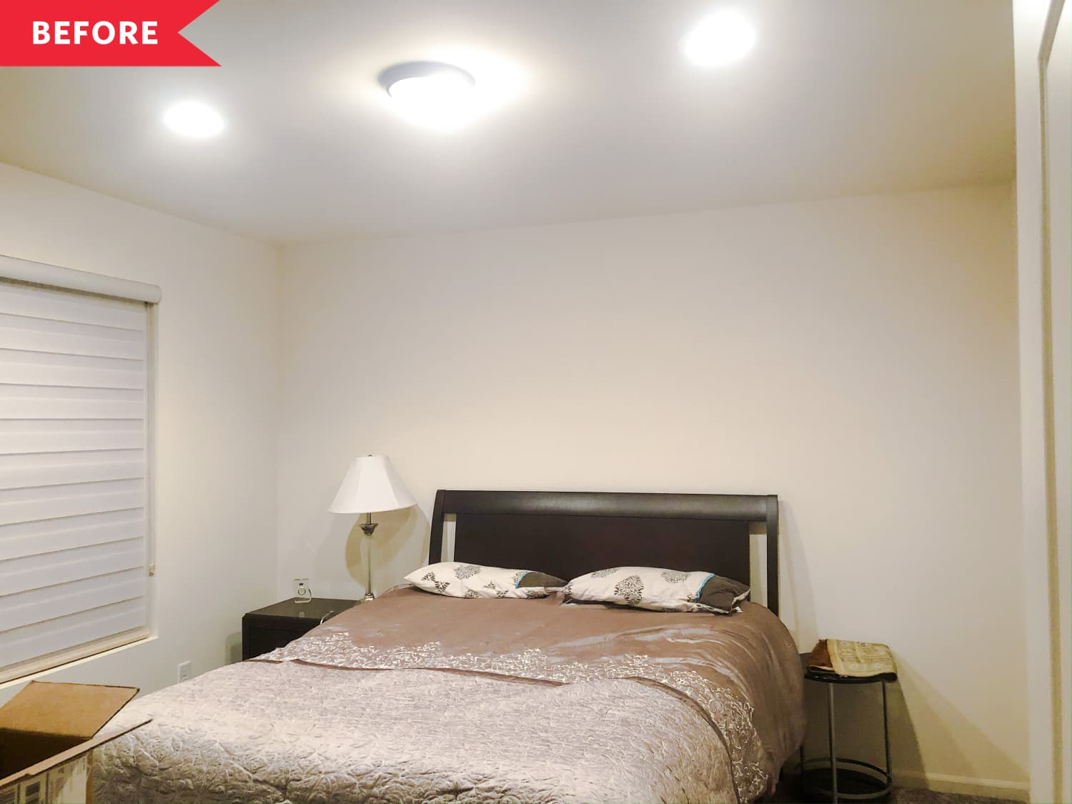 Before and After: A $340 DIY Bedroom Proves the Power of a Fresh, Fun Paint Job