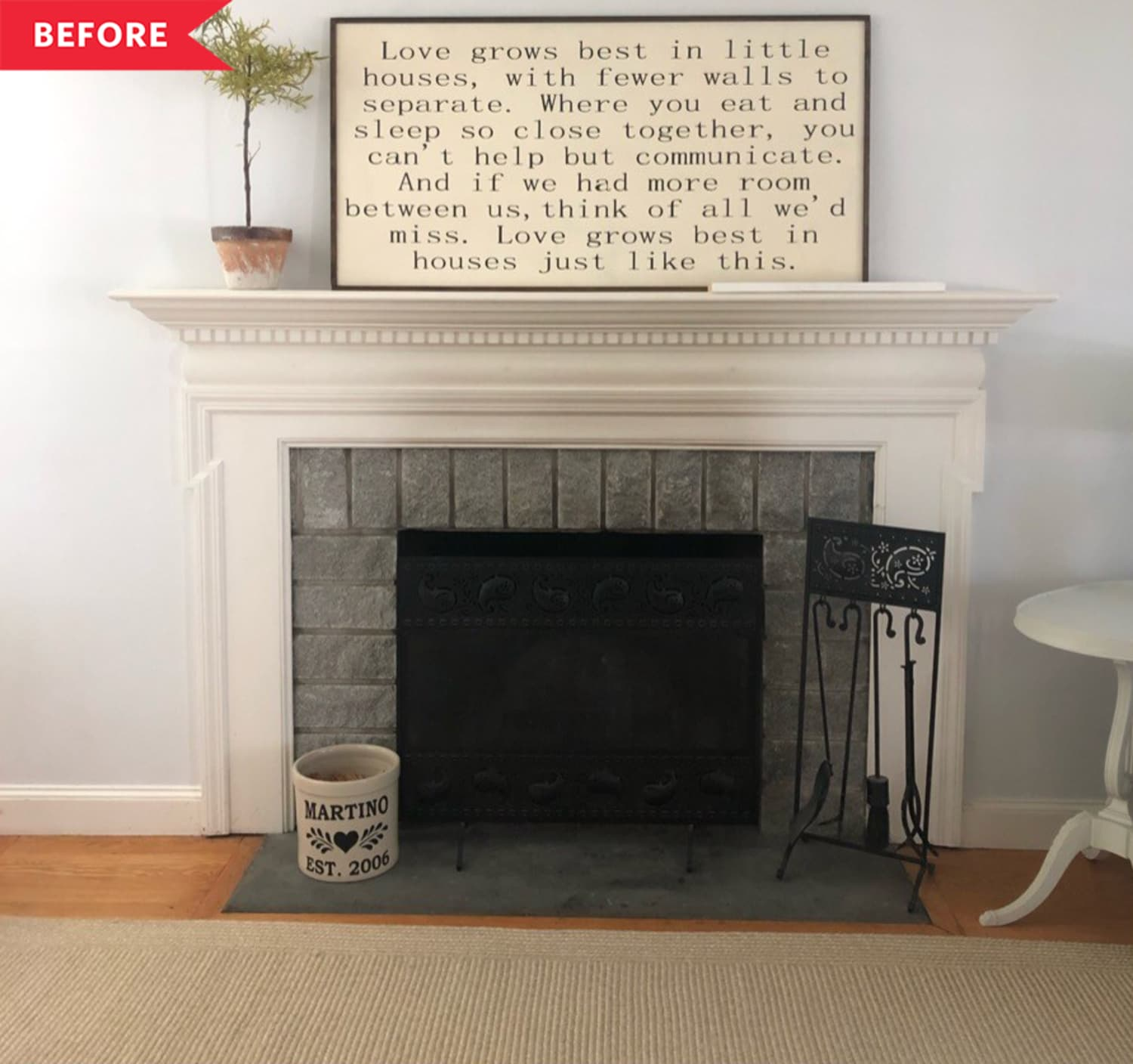 8 Fireplace Makeovers That'll Make You Want to Curl Up with a Good Book