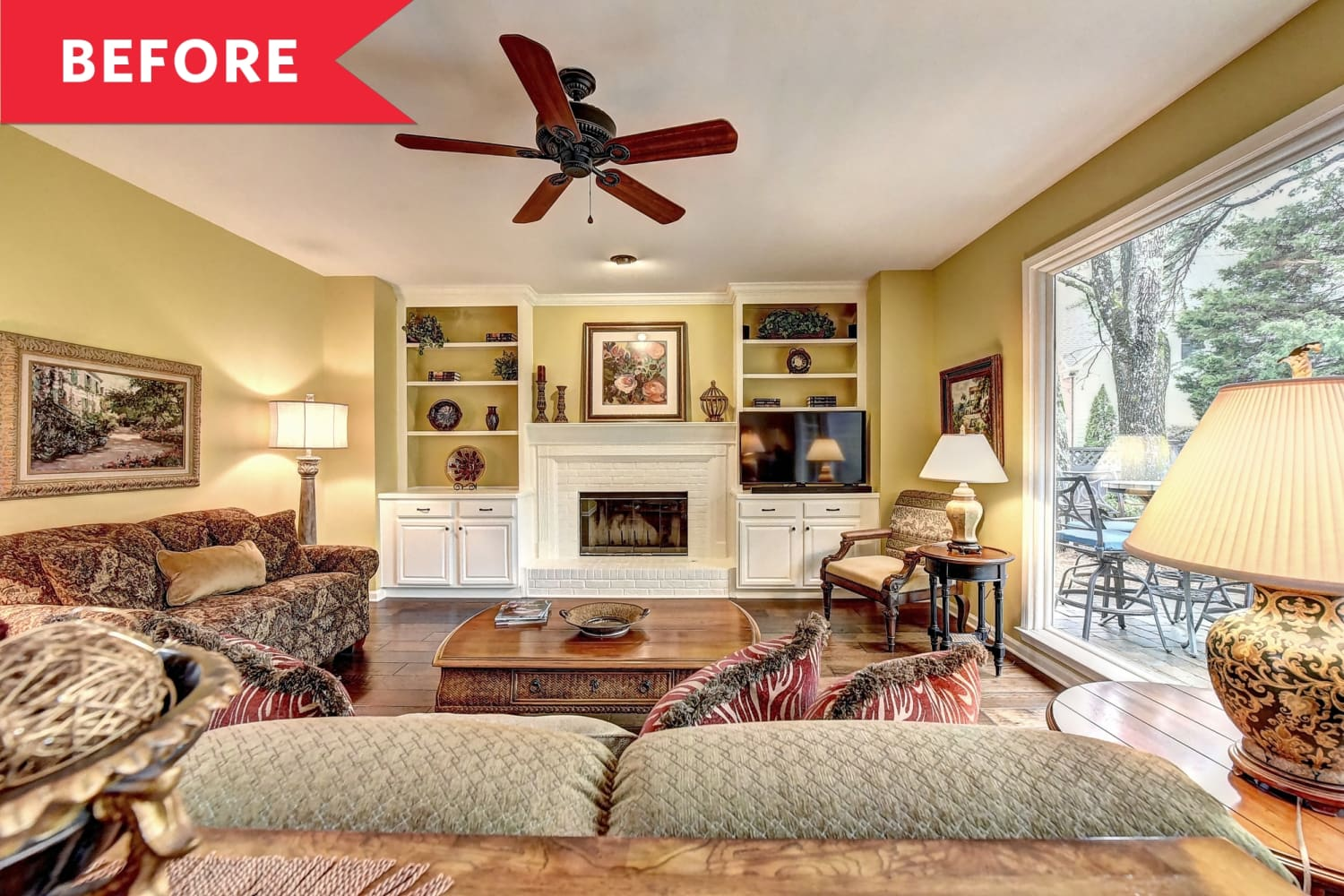 Before and After: This $500 Living Room Redo Proves the Power of Paint