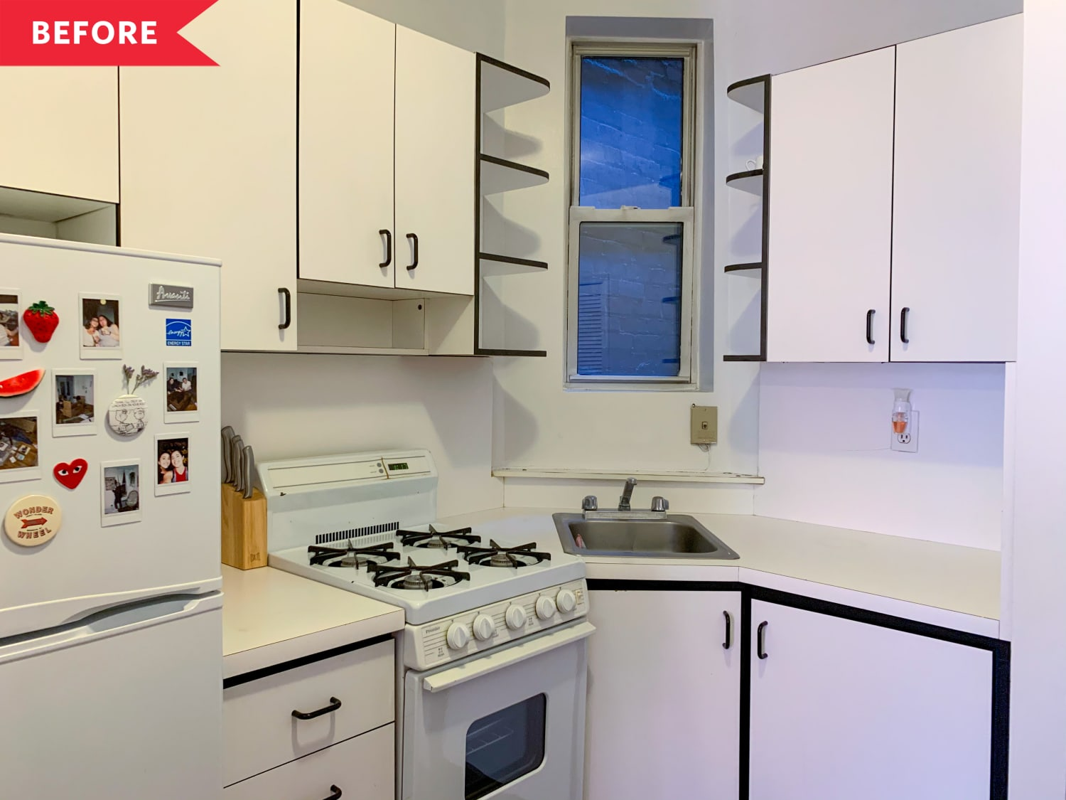 Before & After: This $100 Rental Kitchen Redo Has a Million-Dollar Personality
