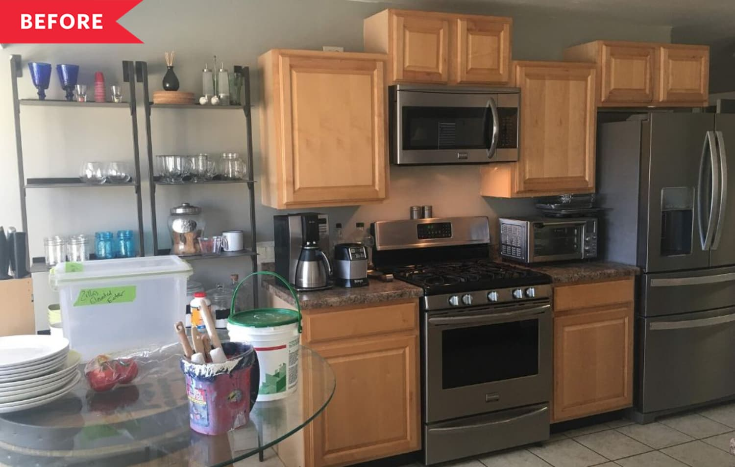 A $3,000 Kitchen Redo Featuring IKEA Cabinets and a New Farmhouse Style