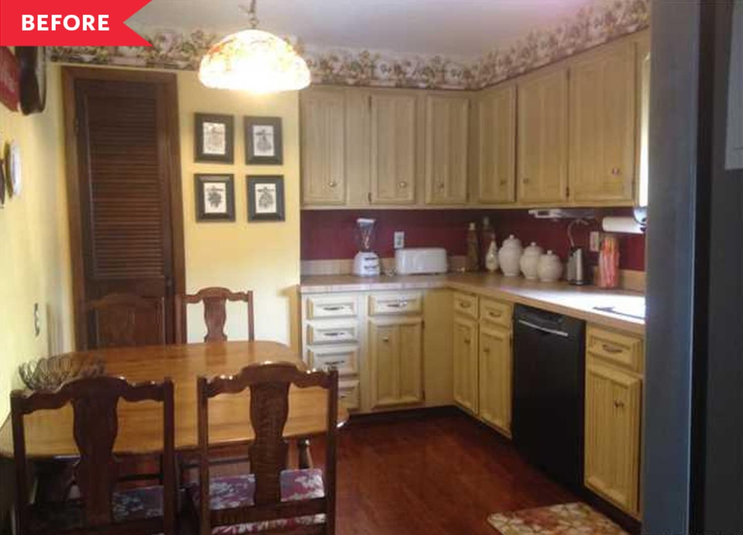 Before & After: IKEA Cabinets Set the Stage for This Stunning $5,000 Kitchen Redo
