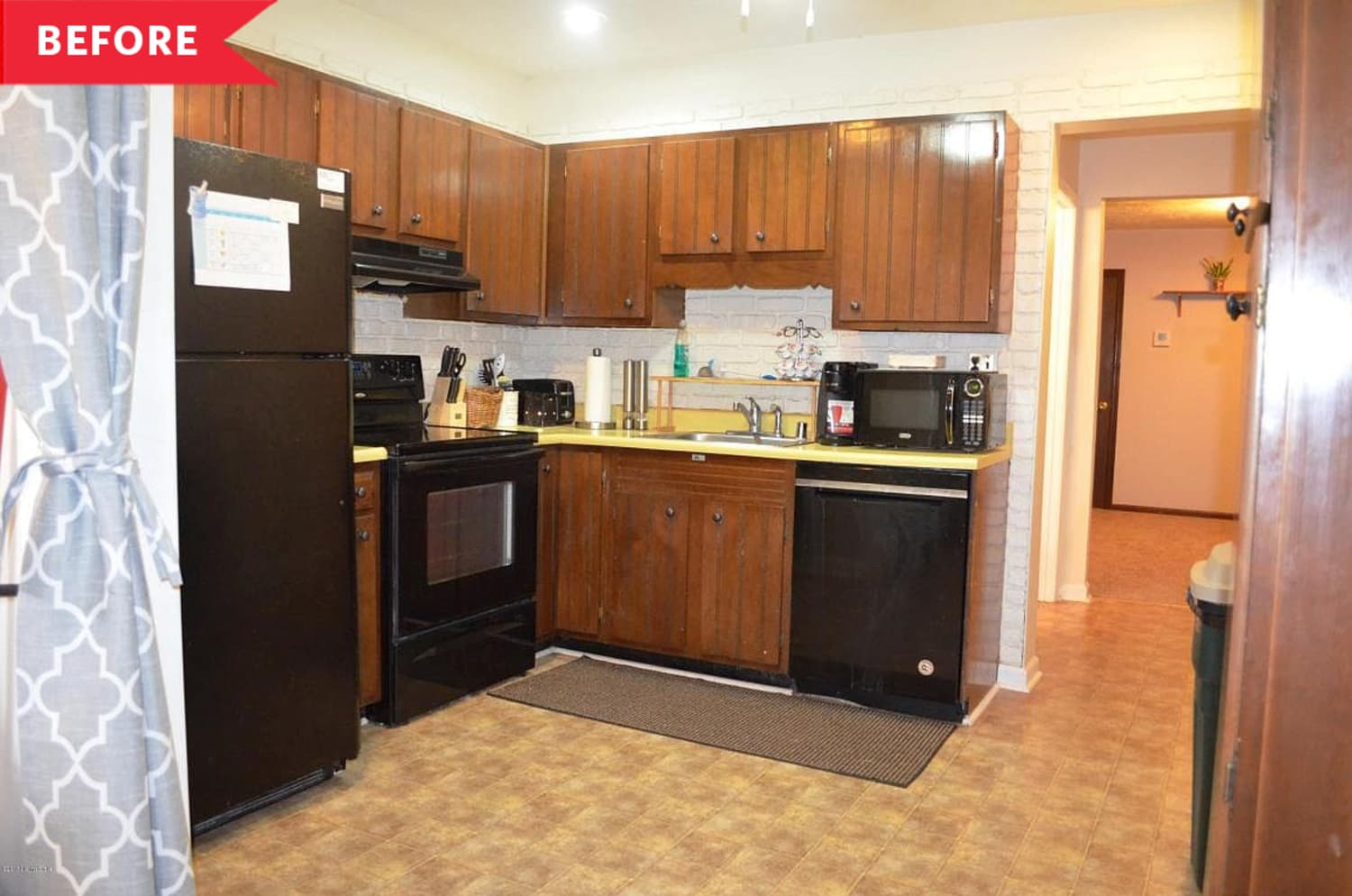 Before & After: The IKEA Cabinets in This Kitchen Redo Look Totally Custom