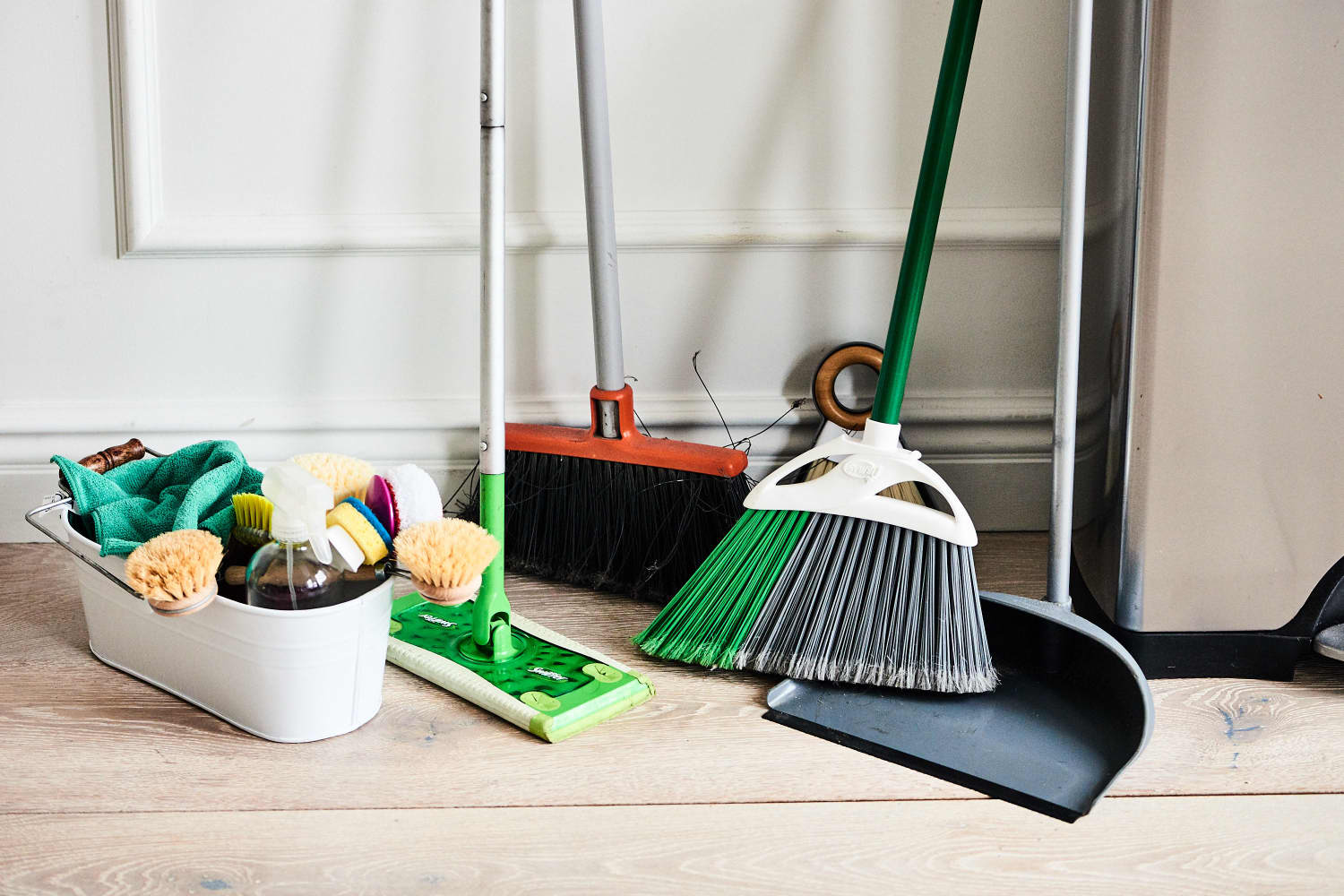 This Professional House Cleaner Scrubs 31 Houses a Week — Here's What's in His Cleaning Caddy