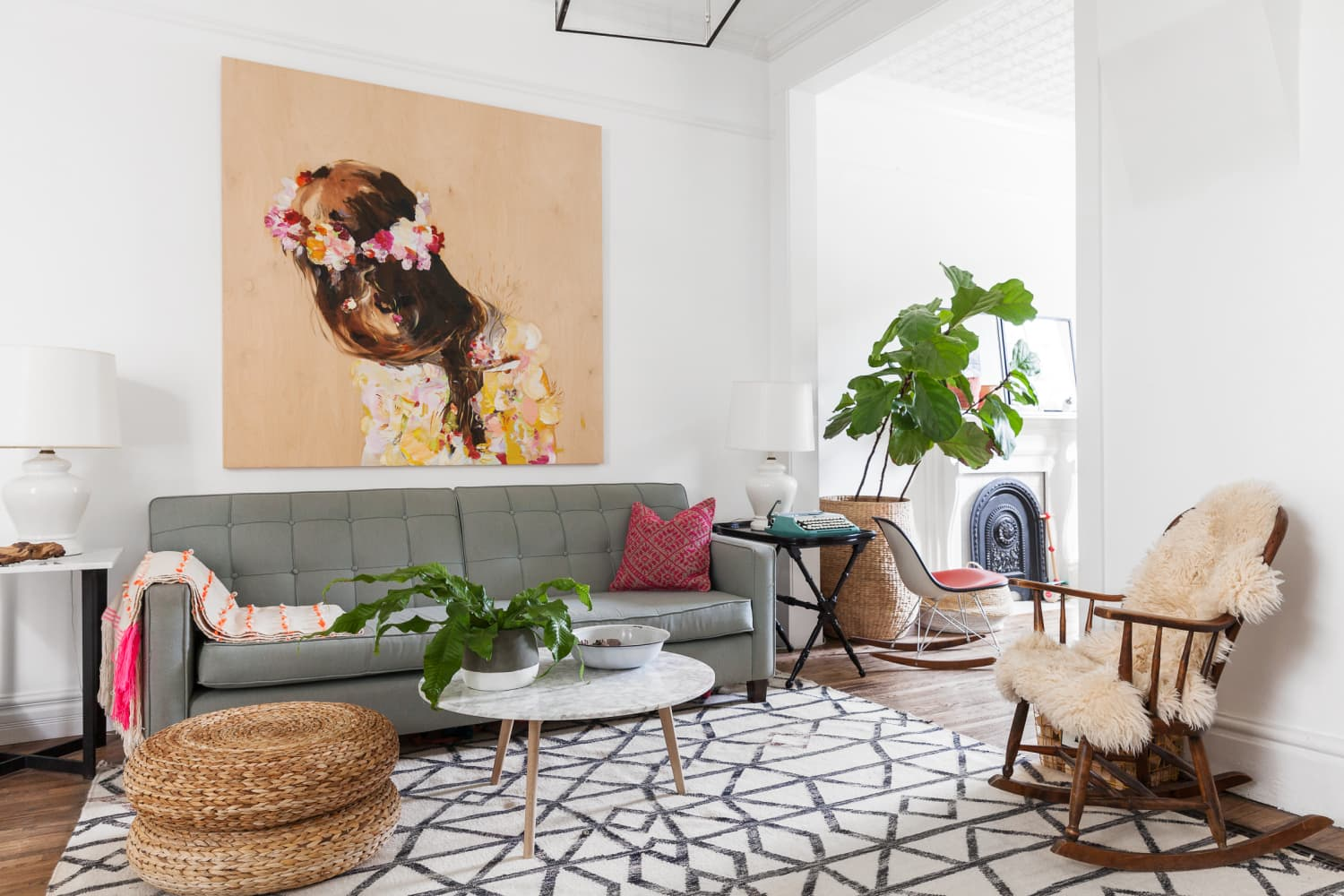 10 Floor Seating Options for When You Just Don't Have Room for One More Chair