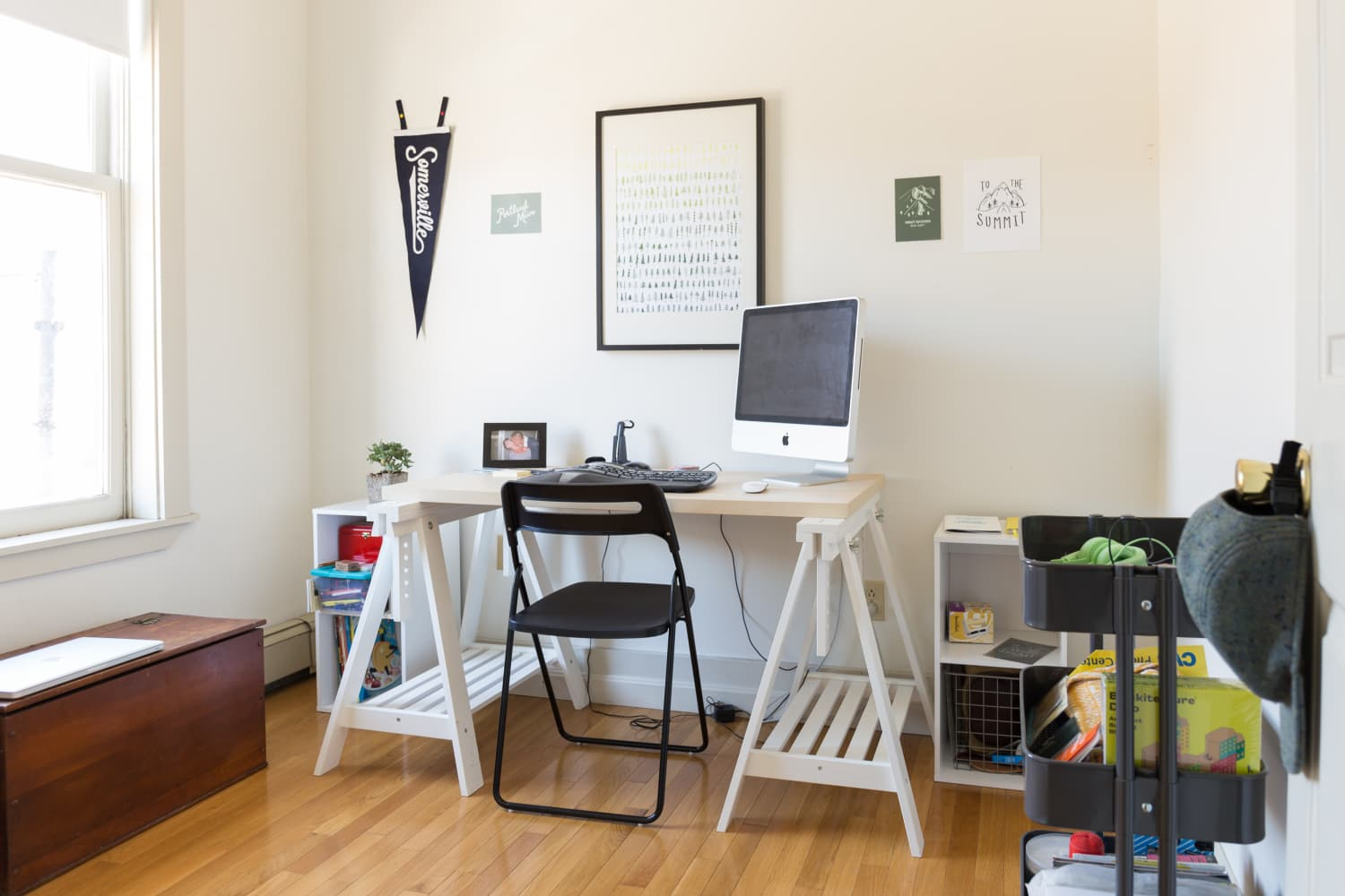 This Folding Chair is Perfect for Working From Home in a Tiny Space
