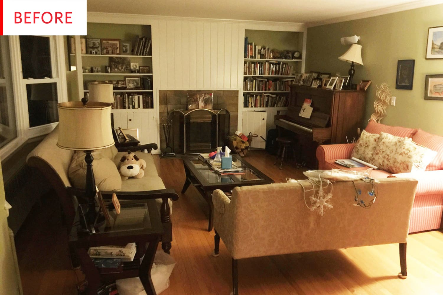 Before and After: A Once-Cluttered House Is Now Light, Bright, and a lot More Enjoyable