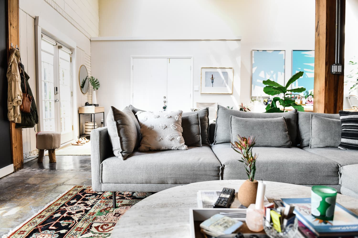 10 Teeny, Tiny Things Apartment Therapy Editors Did to Immediately Improve Their Living Rooms