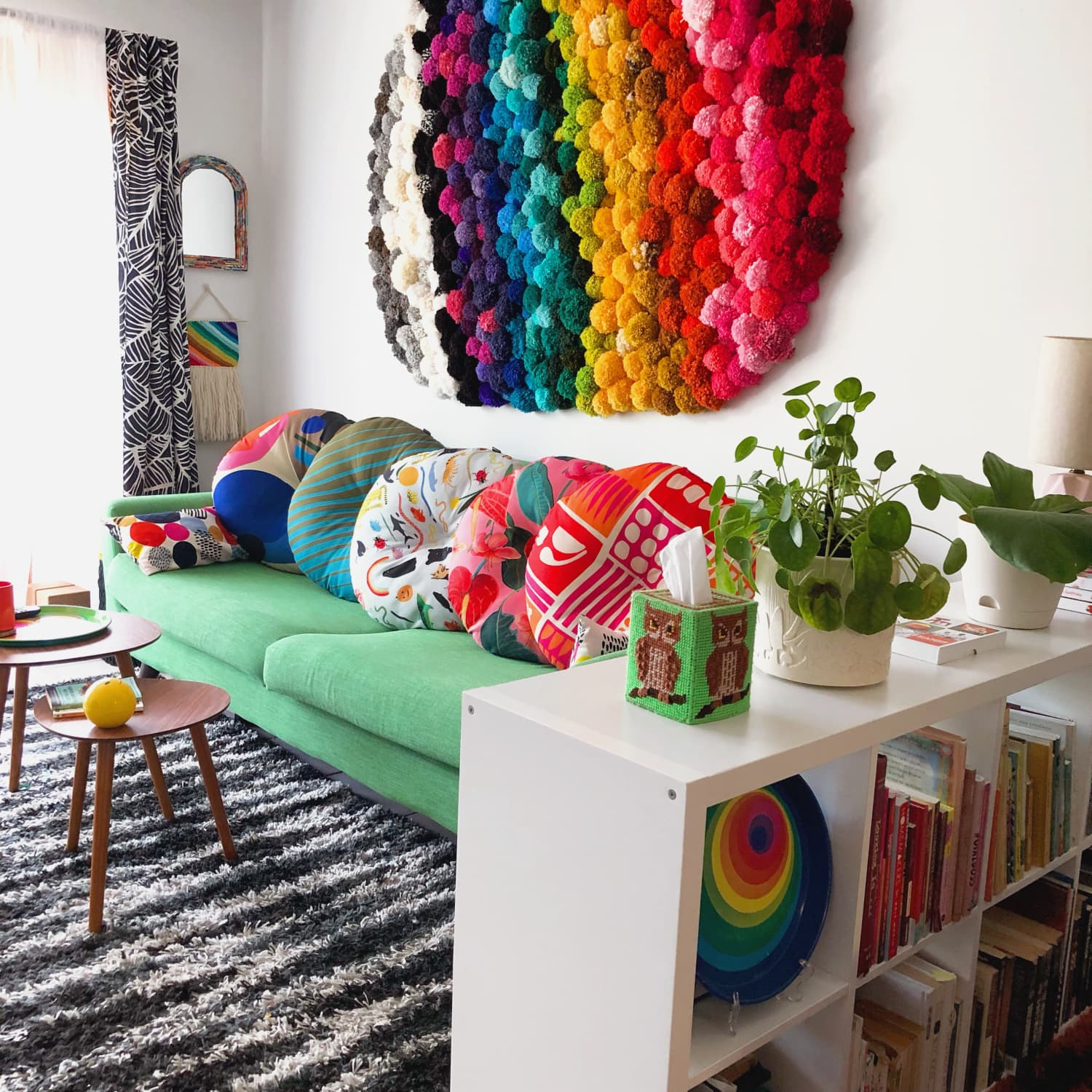 This Rental Apartment's Rainbow Color Palette Will Lift Your Spirits