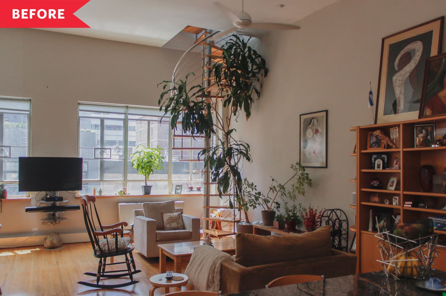 Before and After: This Airy Tribeca Apartment Was Redesigned with Sustainability in Mind
