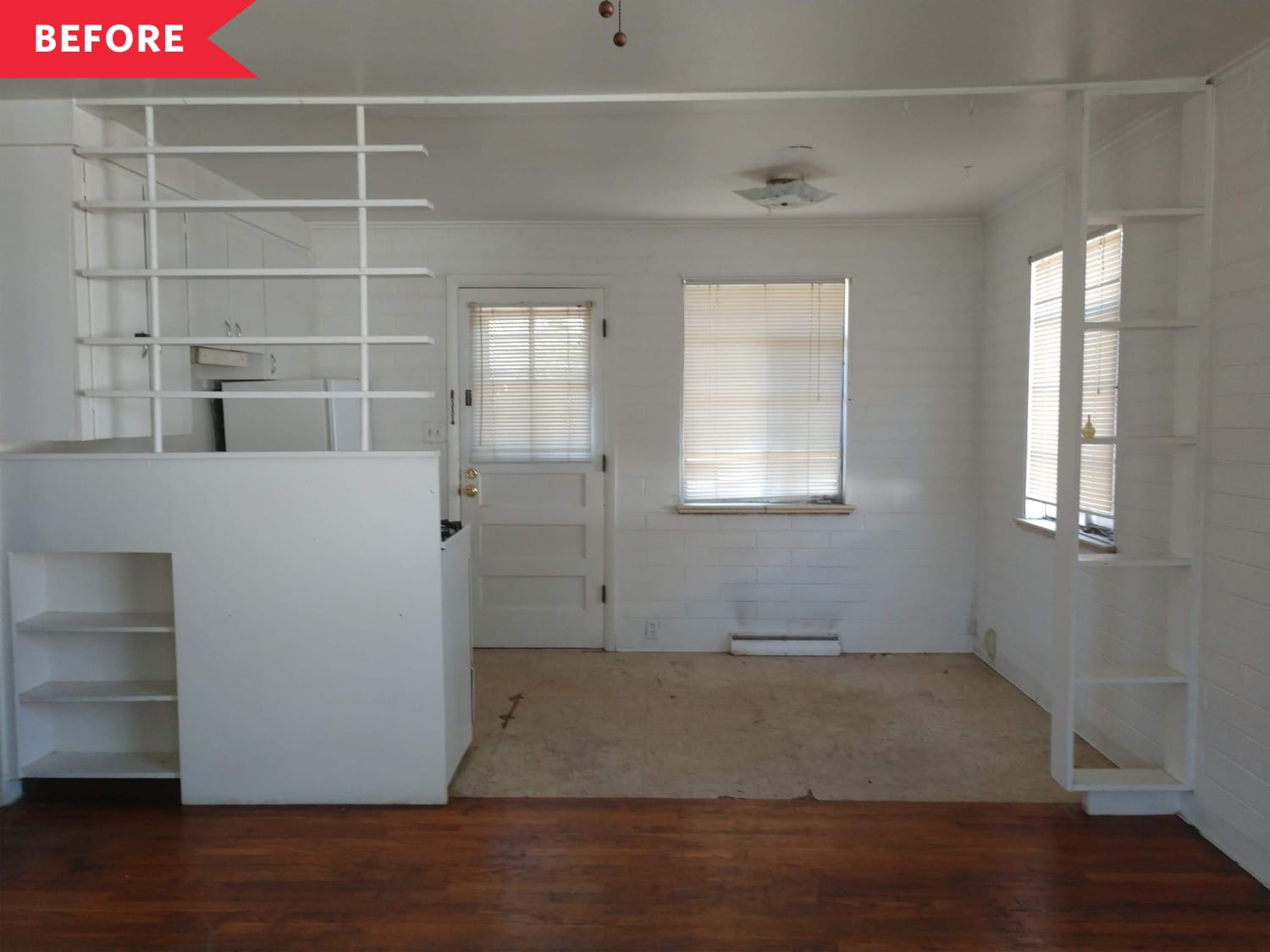 Before & After: A Rental Apartment's Dingy Kitchen Is Unrecognizable After a Modern Reno
